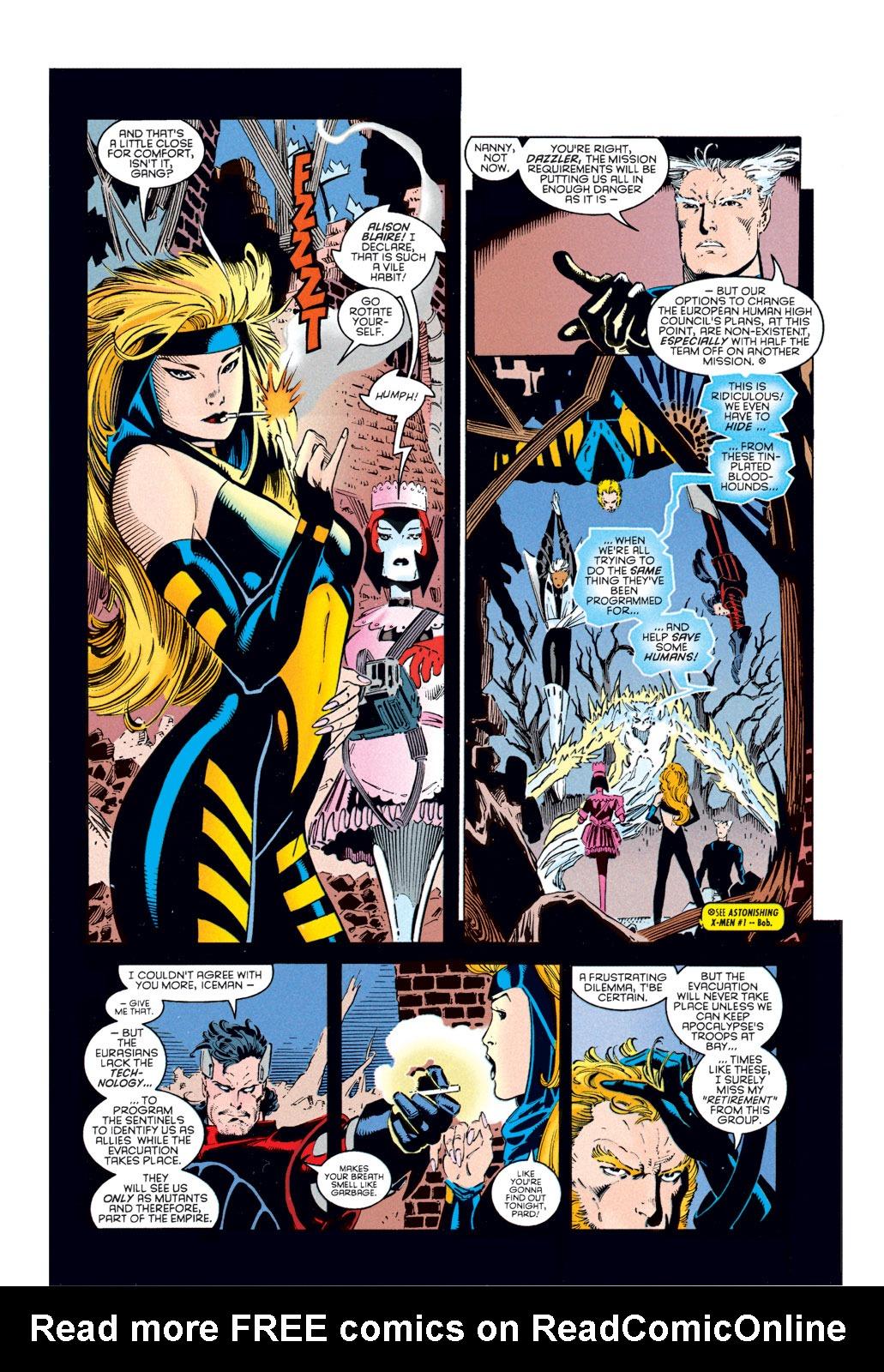 Read online Amazing X-Men (1995) comic -  Issue #1 - 8