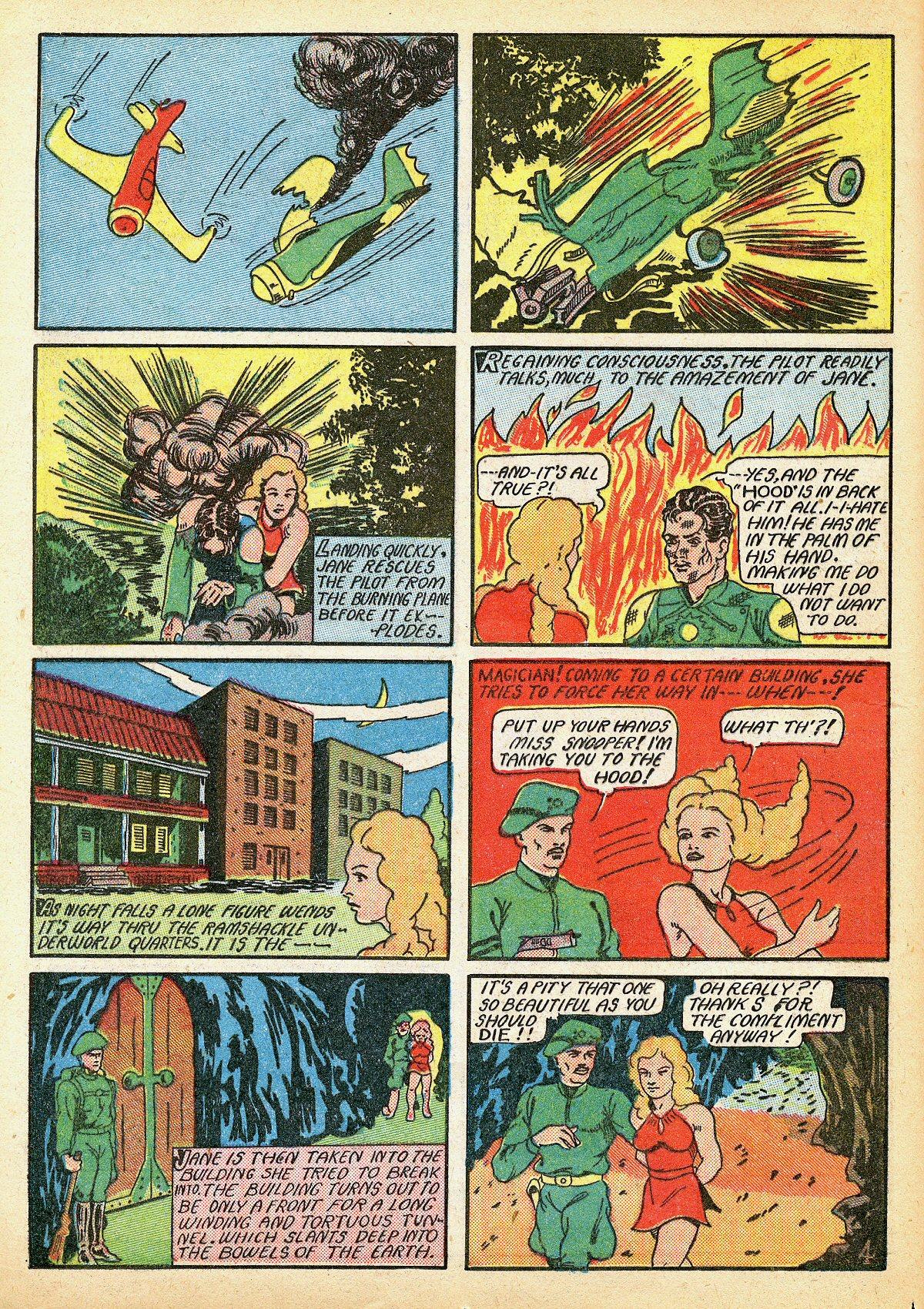 Read online Amazing Man Comics comic -  Issue #10 - 23