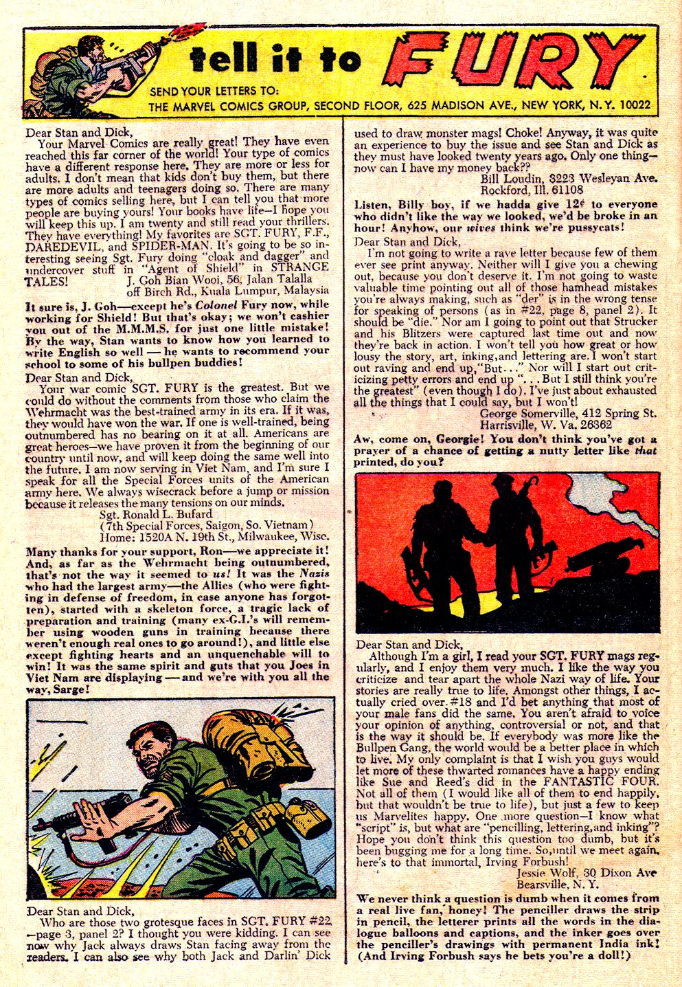 Read online Sgt. Fury comic -  Issue #26 - 32