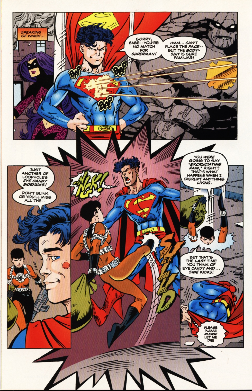Read online Superboy & The Ravers comic -  Issue #9 - 14