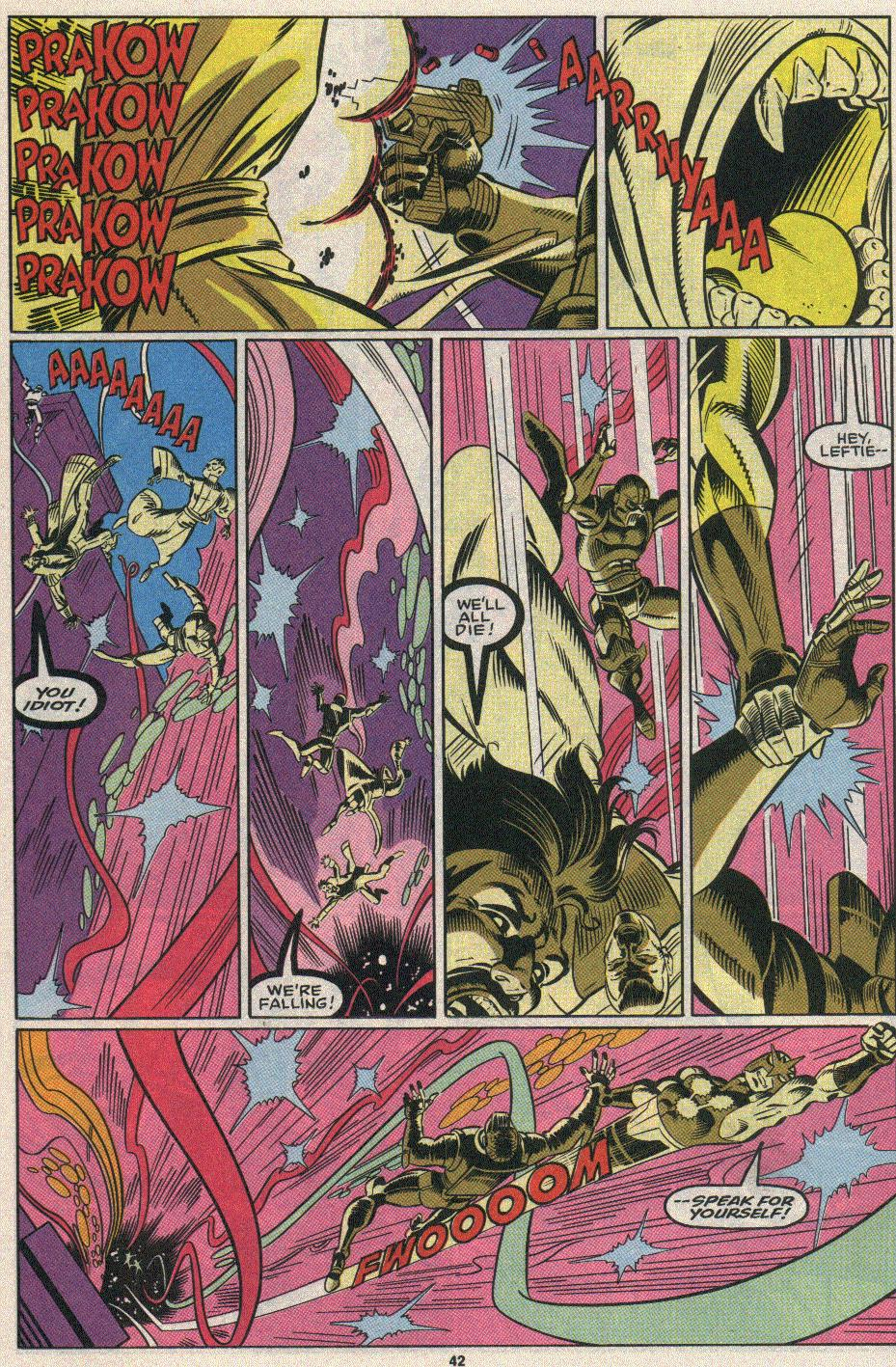 The New Warriors Issue #25 #29 - English 36