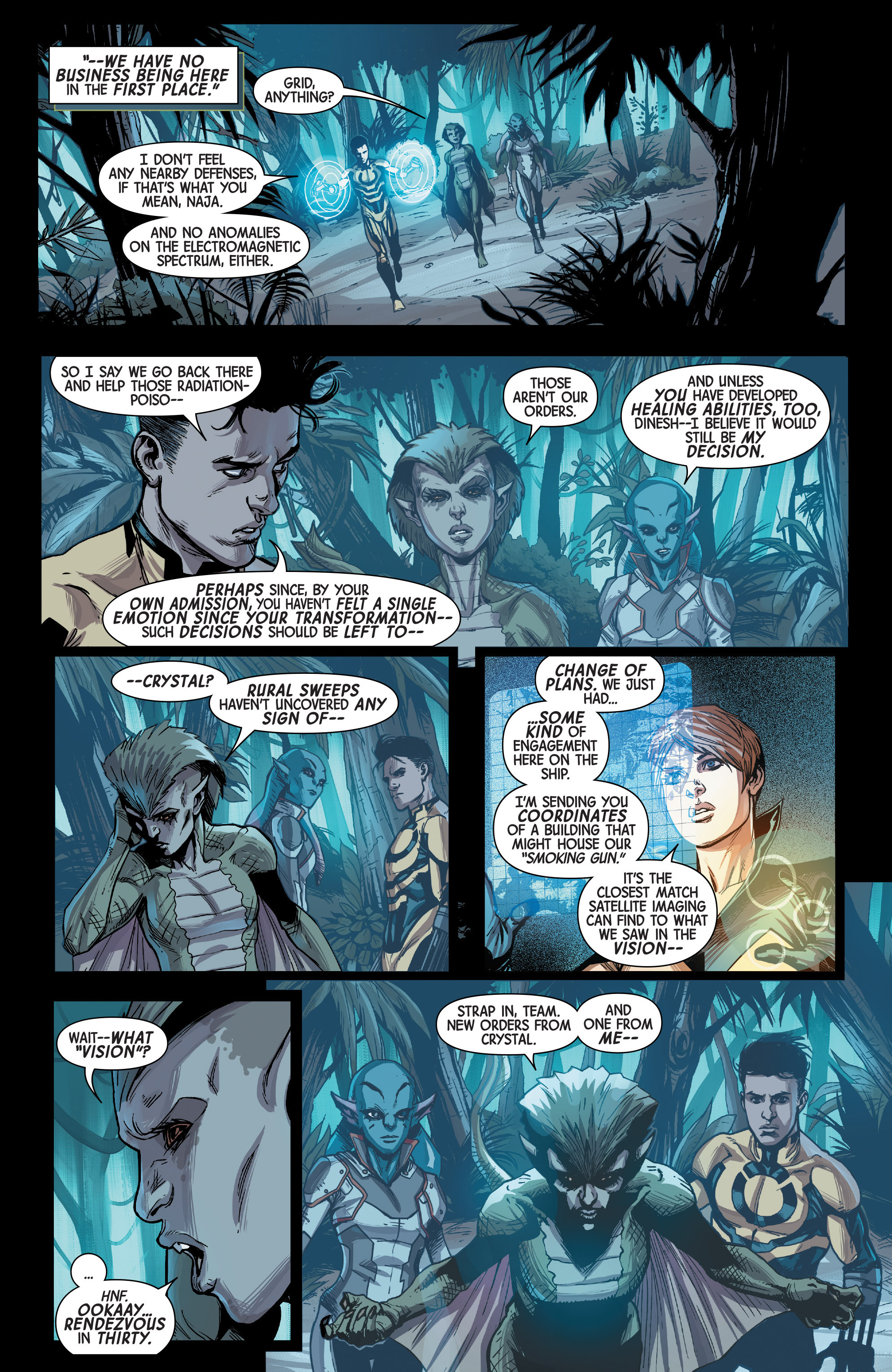 Read online All-New Inhumans comic -  Issue #3 - 8