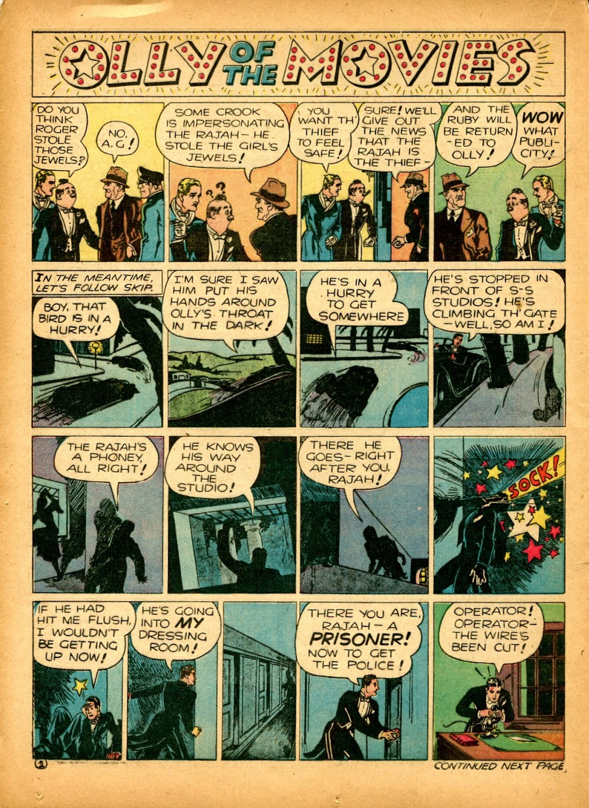 Read online Famous Funnies comic -  Issue #84 - 46