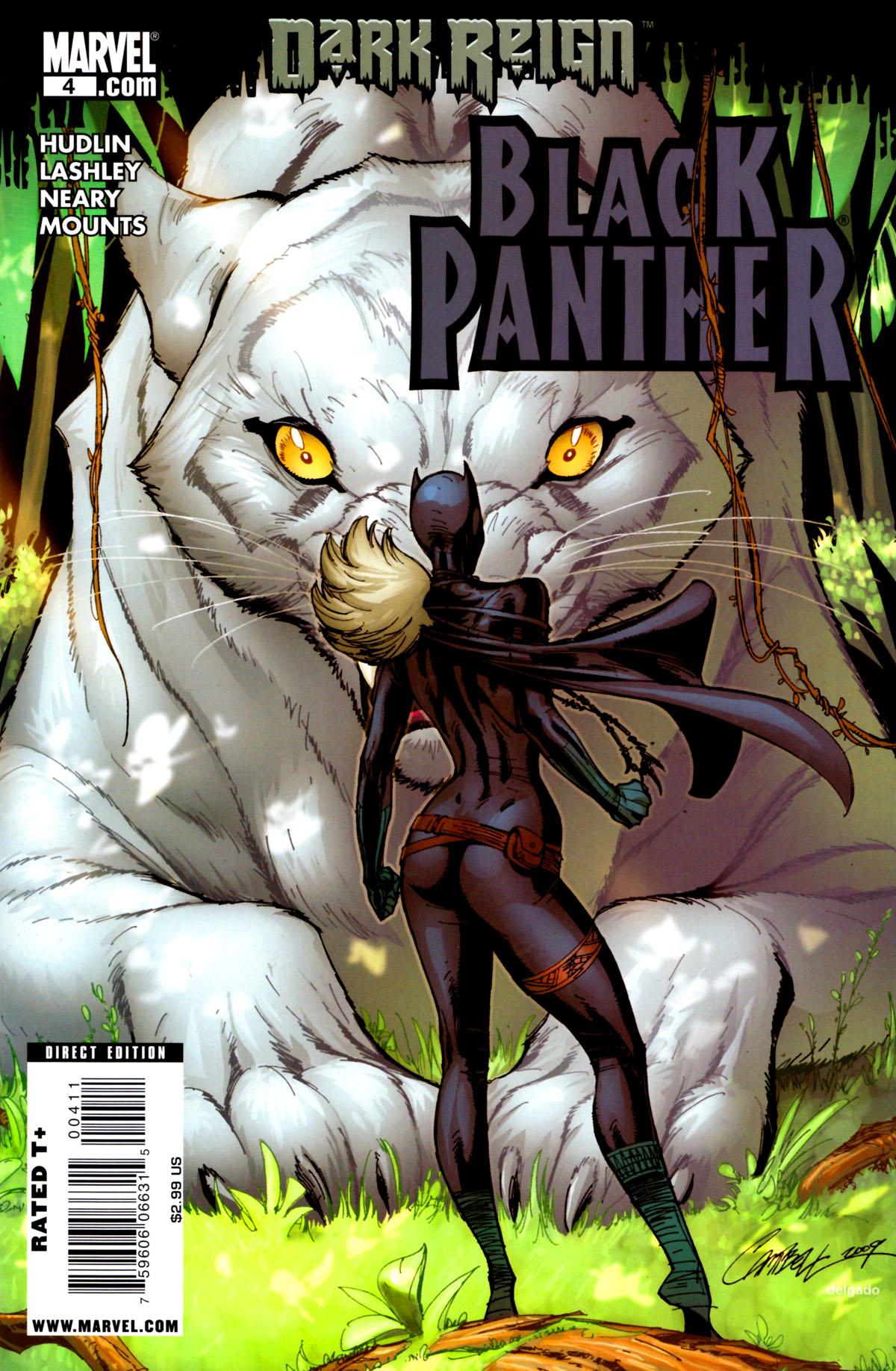 Black Panther (2009) 4 Page 1