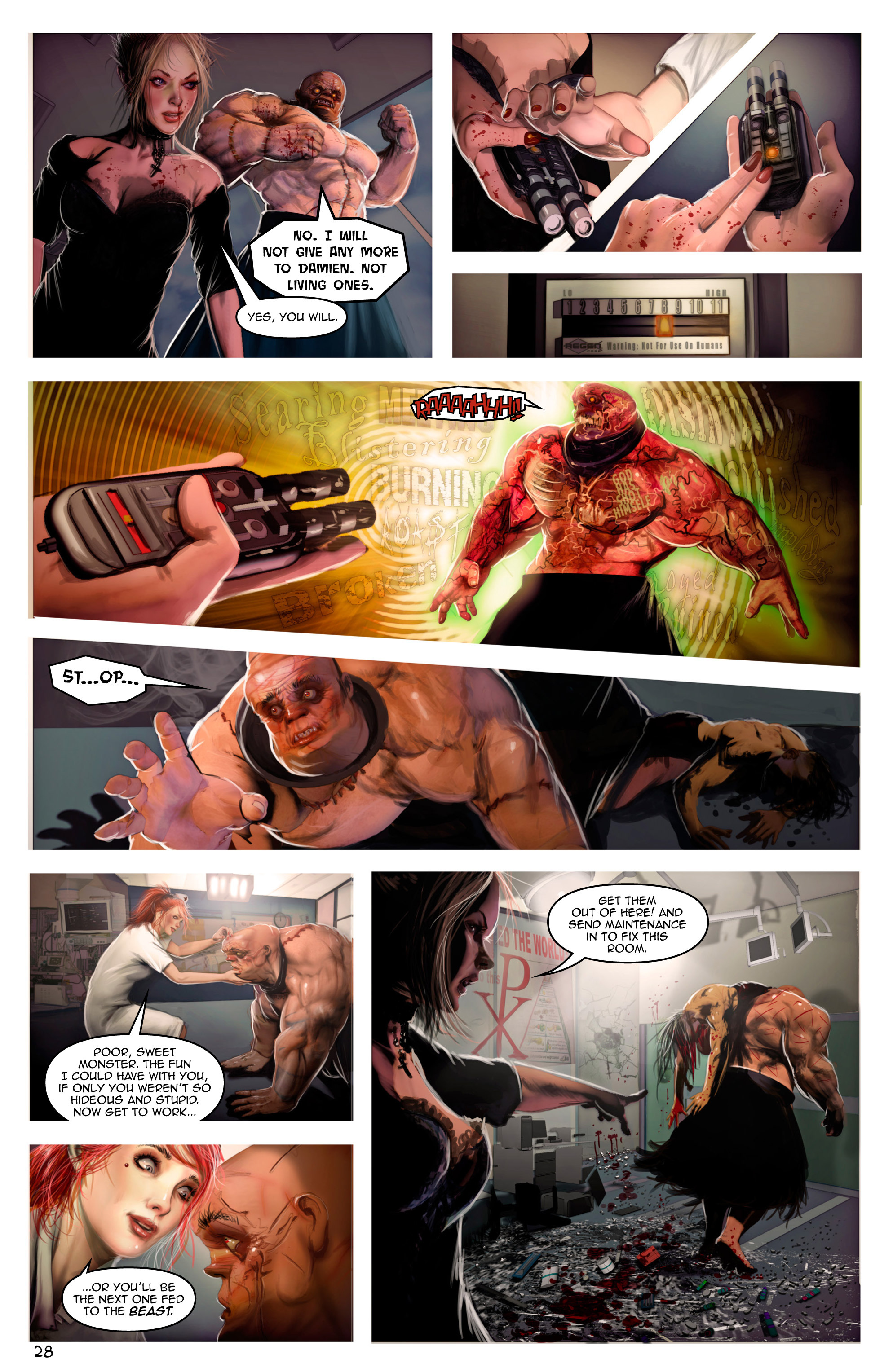Read online Escape from Jesus Island comic -  Issue #2 - 28