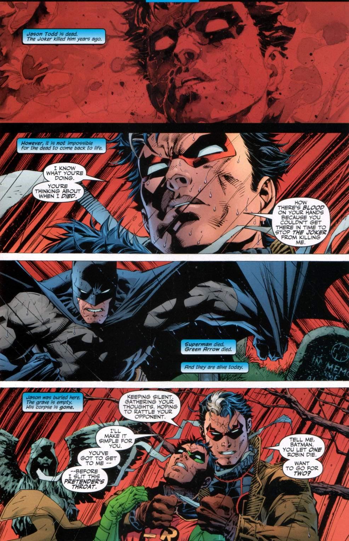 Read online Batman: Hush comic -  Issue #11 - 2