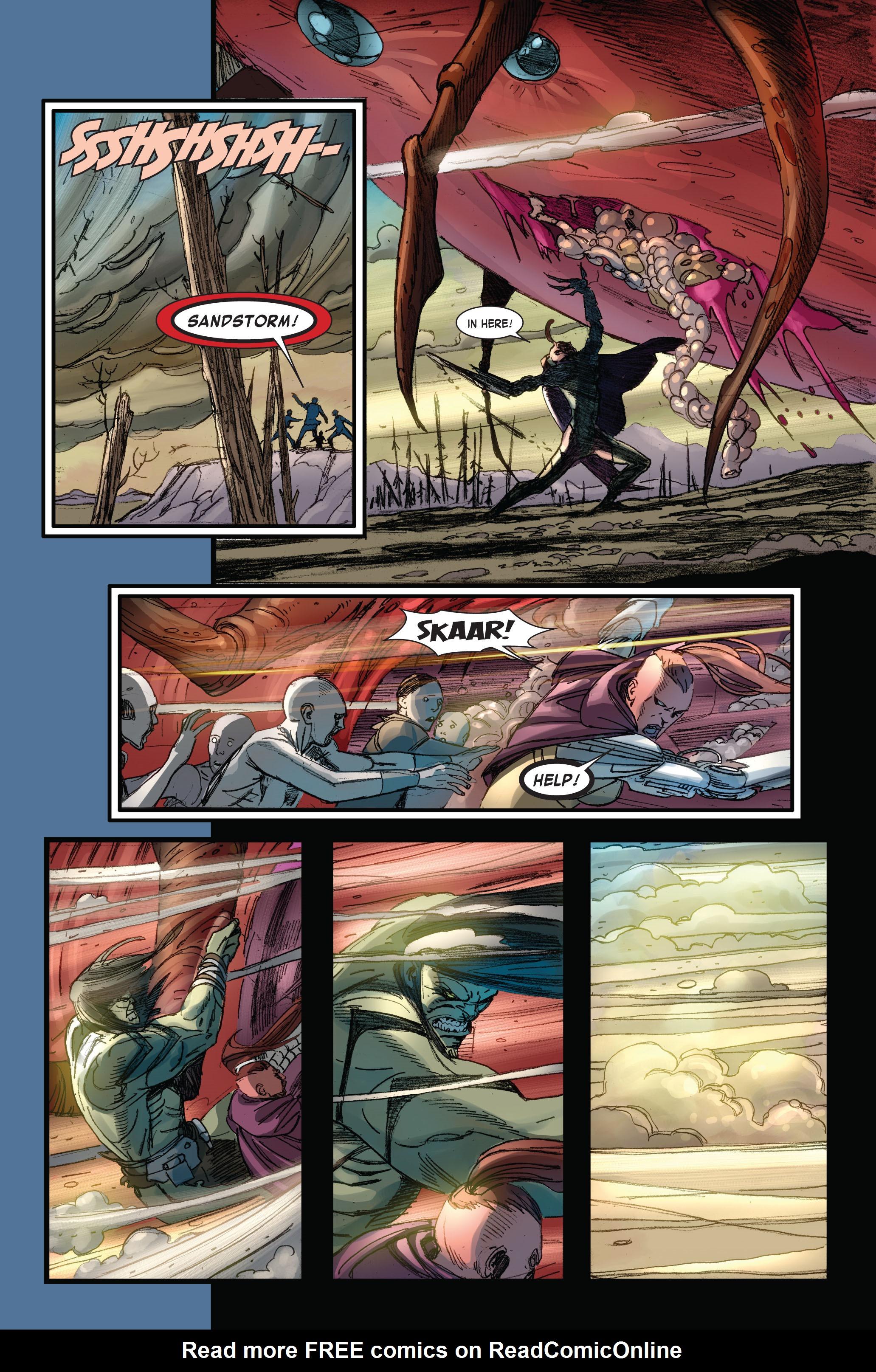 Read online Skaar: Son of Hulk comic -  Issue #4 - 11