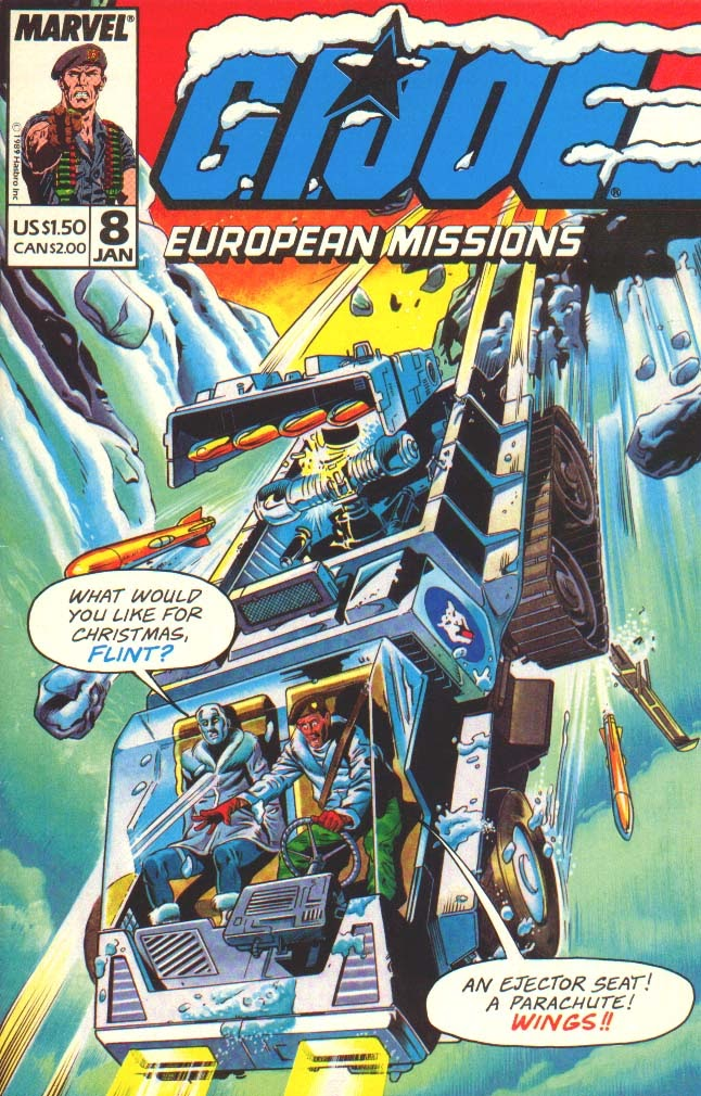 G.I. Joe European Missions issue 8 - Page 1