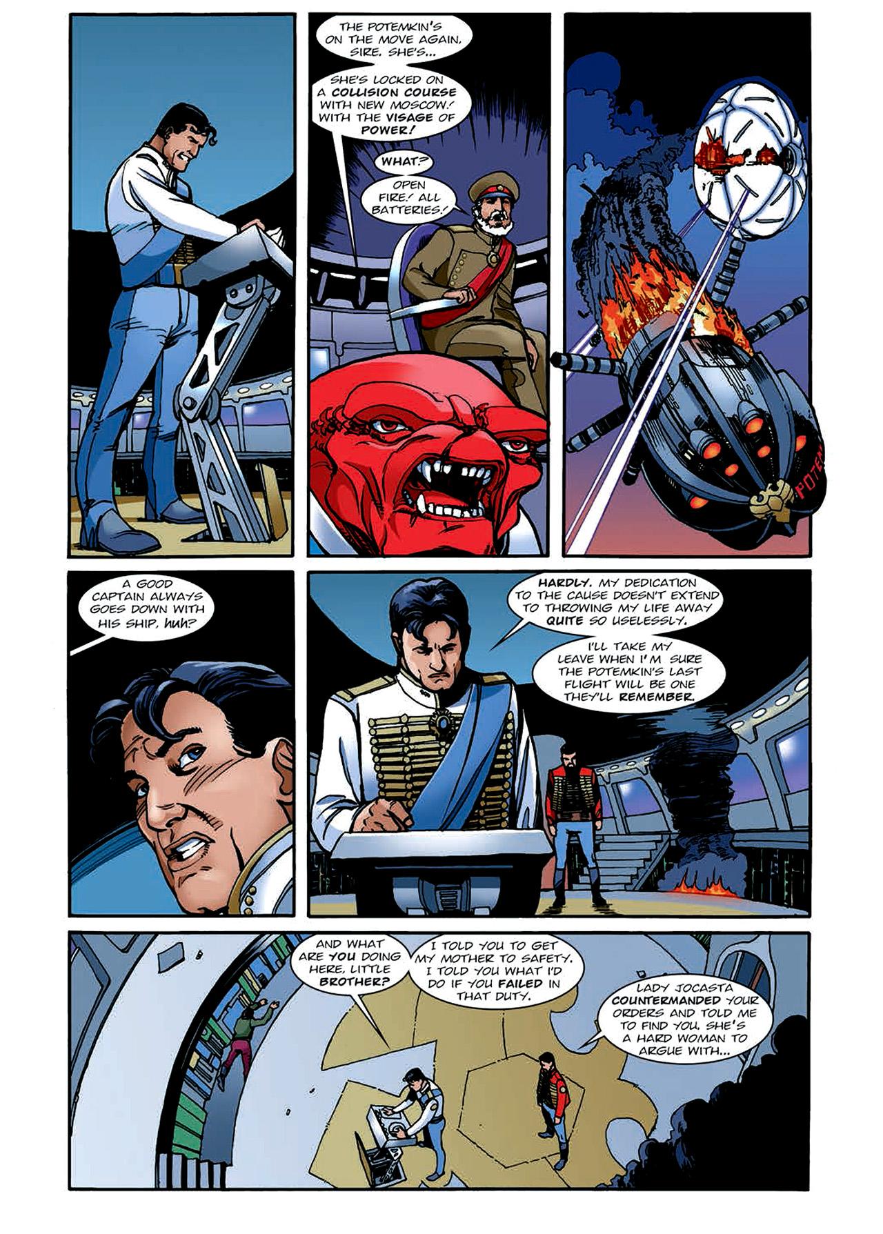 Read online Nikolai Dante comic -  Issue # TPB 4 - 145