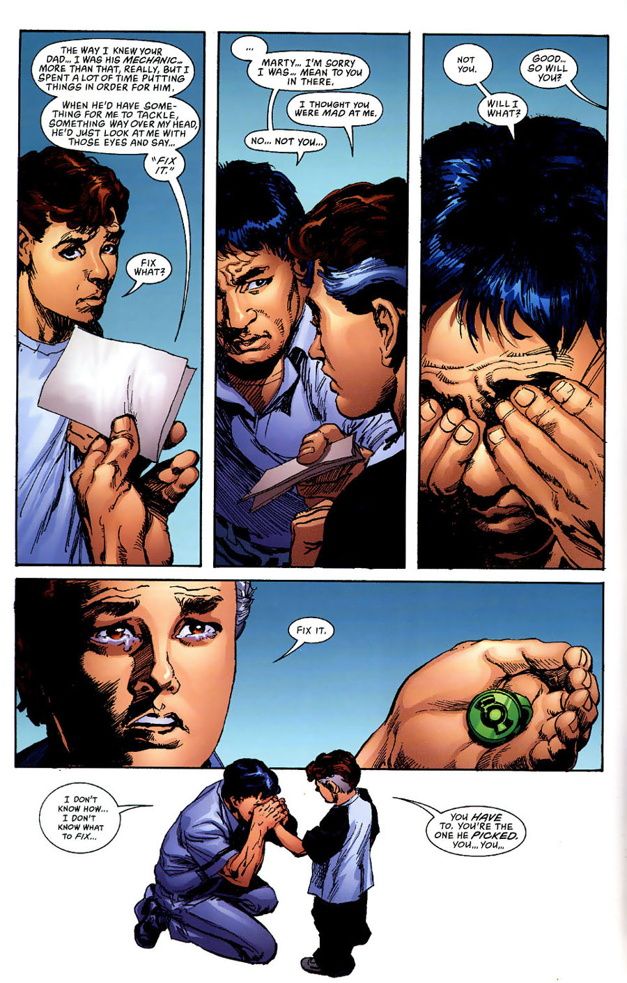 Read online Green Lantern: Legacy: The Last Will and Testament of Hal Jordan comic -  Issue # TPB - 47