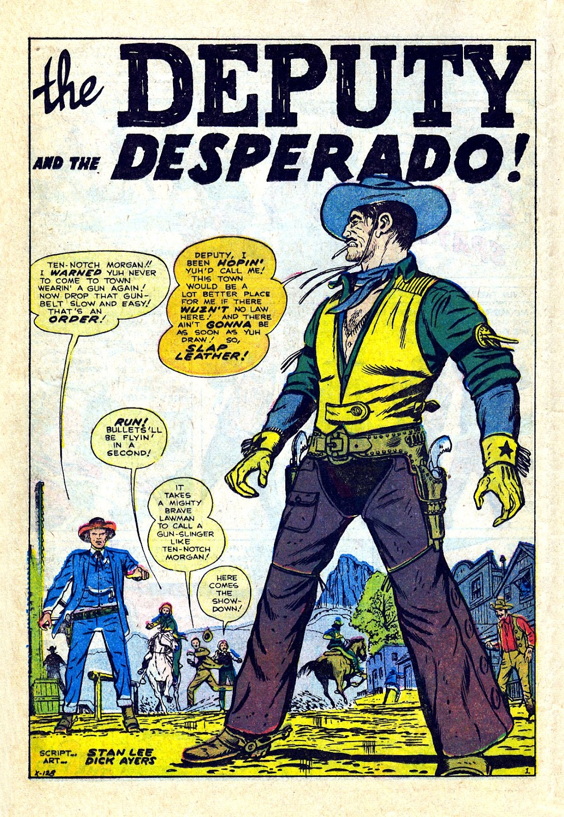 Gunsmoke Western issue 75 - Page 12