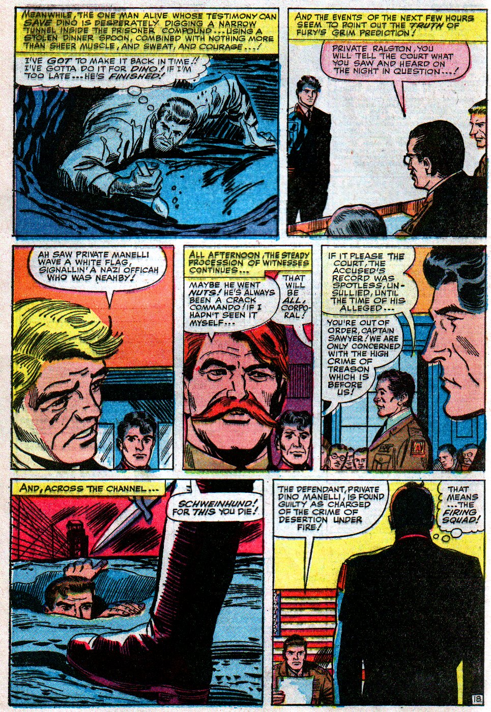 Read online Sgt. Fury comic -  Issue #12 - 28