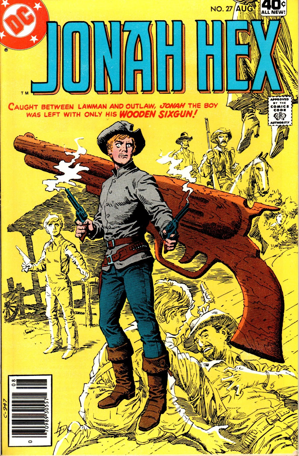 Jonah Hex (1977) 27 Page 1