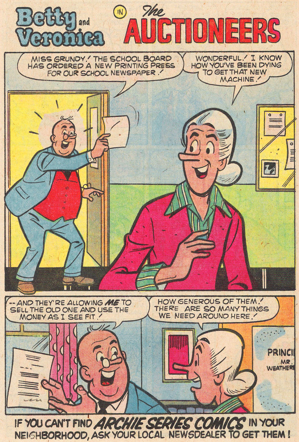 Read online Archie's Girls Betty and Veronica comic -  Issue #269 - 13