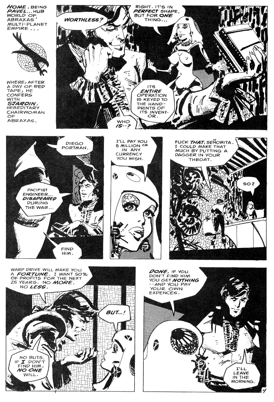 Read online Star*Reach comic -  Issue #4 - 5