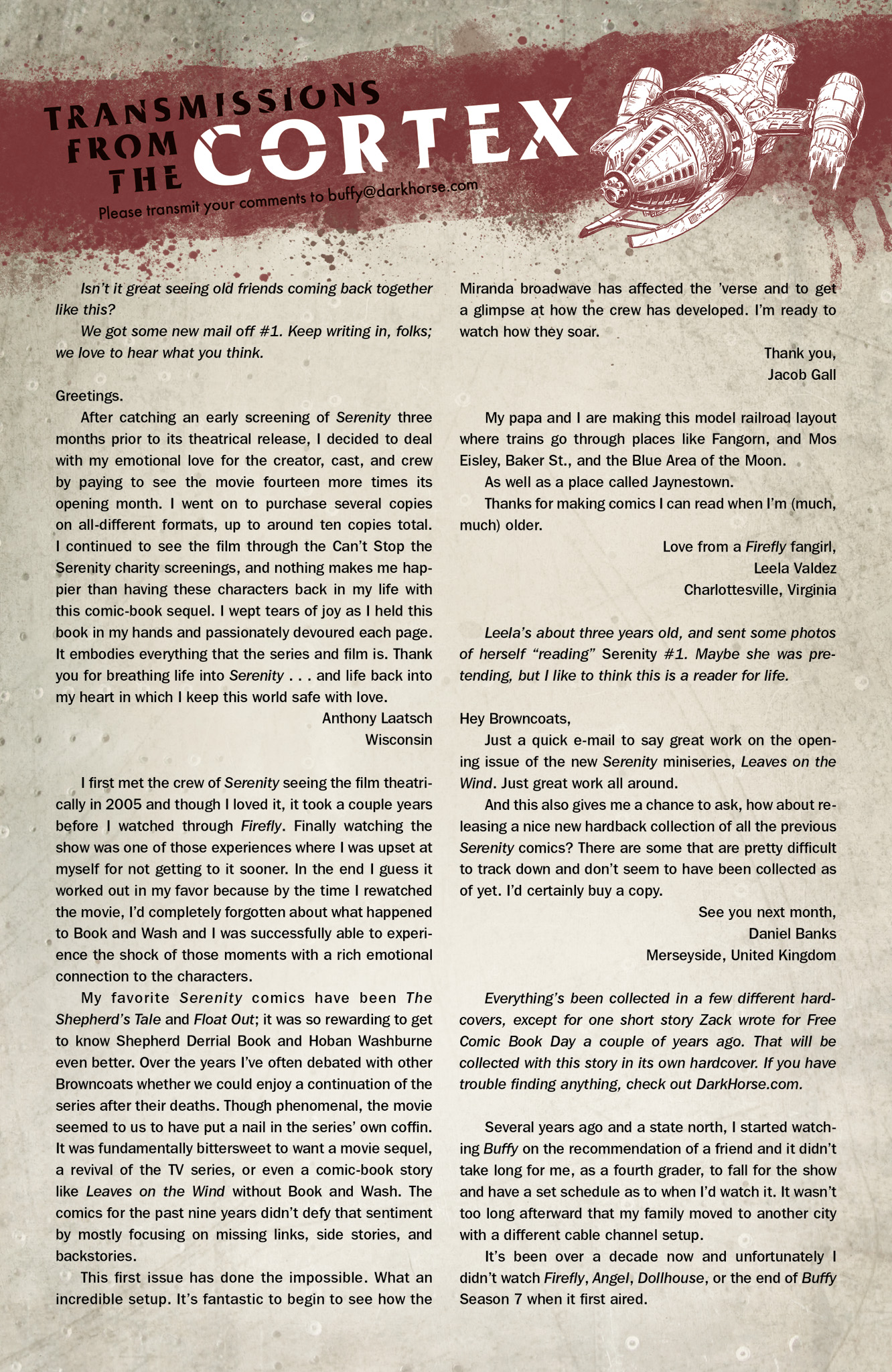 Read online Serenity: Firefly Class 03-K64  Leaves on the Wind comic -  Issue #3 - 25