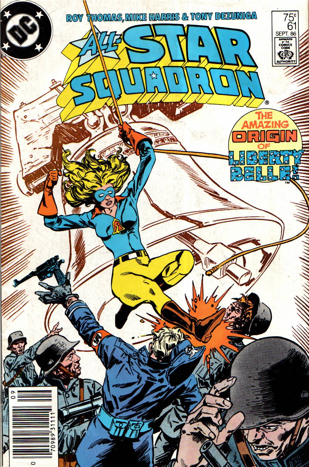 All-Star Squadron 61 Page 1
