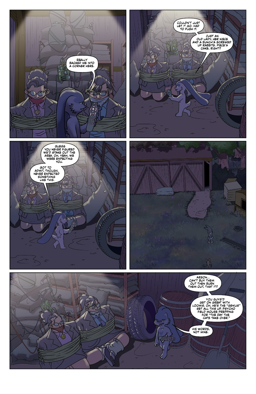 Read online Auntie Agatha's Home For Wayward Rabbits comic -  Issue #6 - 5