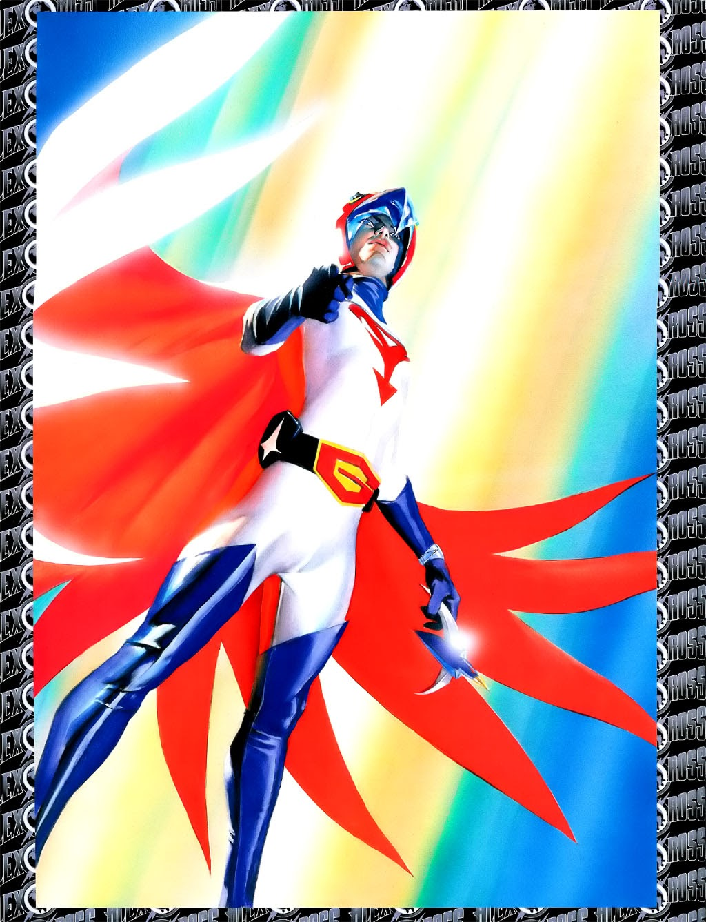 Read online Alex Ross: Battle of the Planets Artbook comic -  Issue # Full - 16
