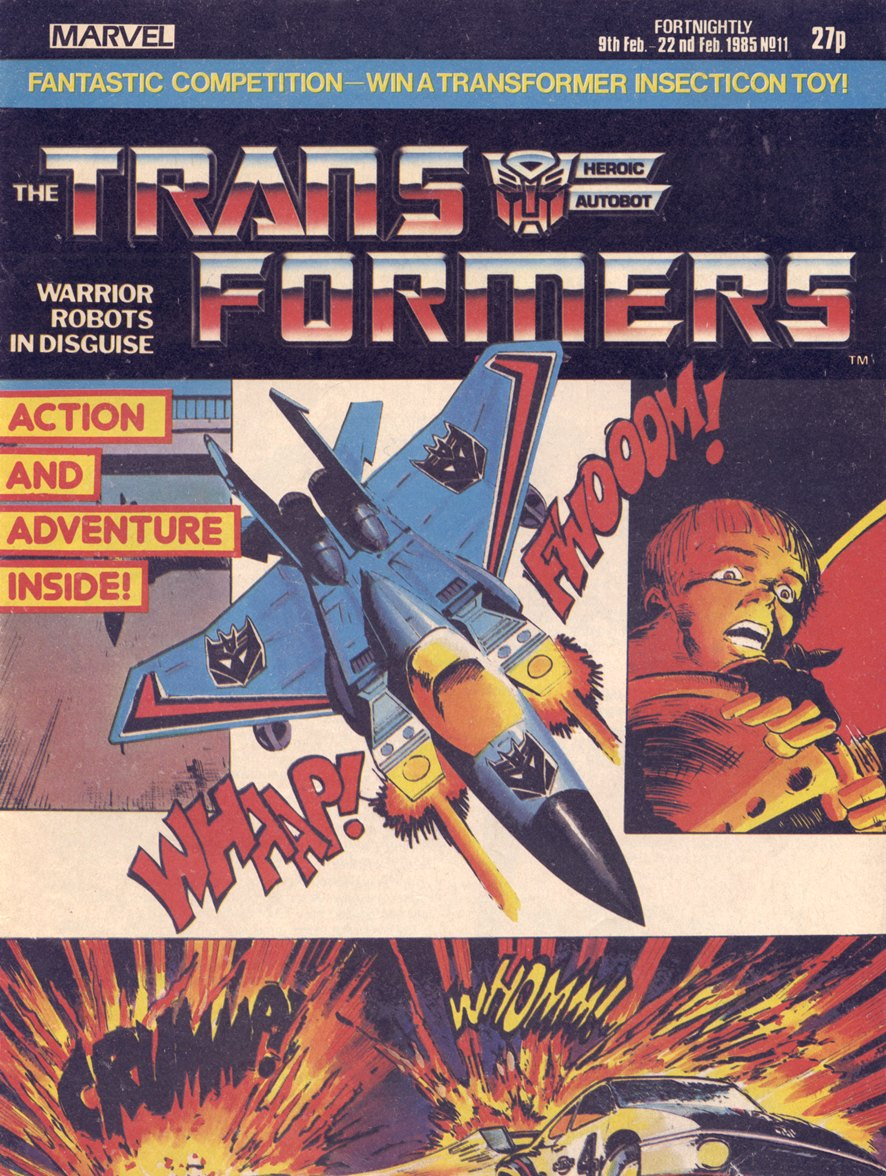 The Transformers (UK) 11 Page 1