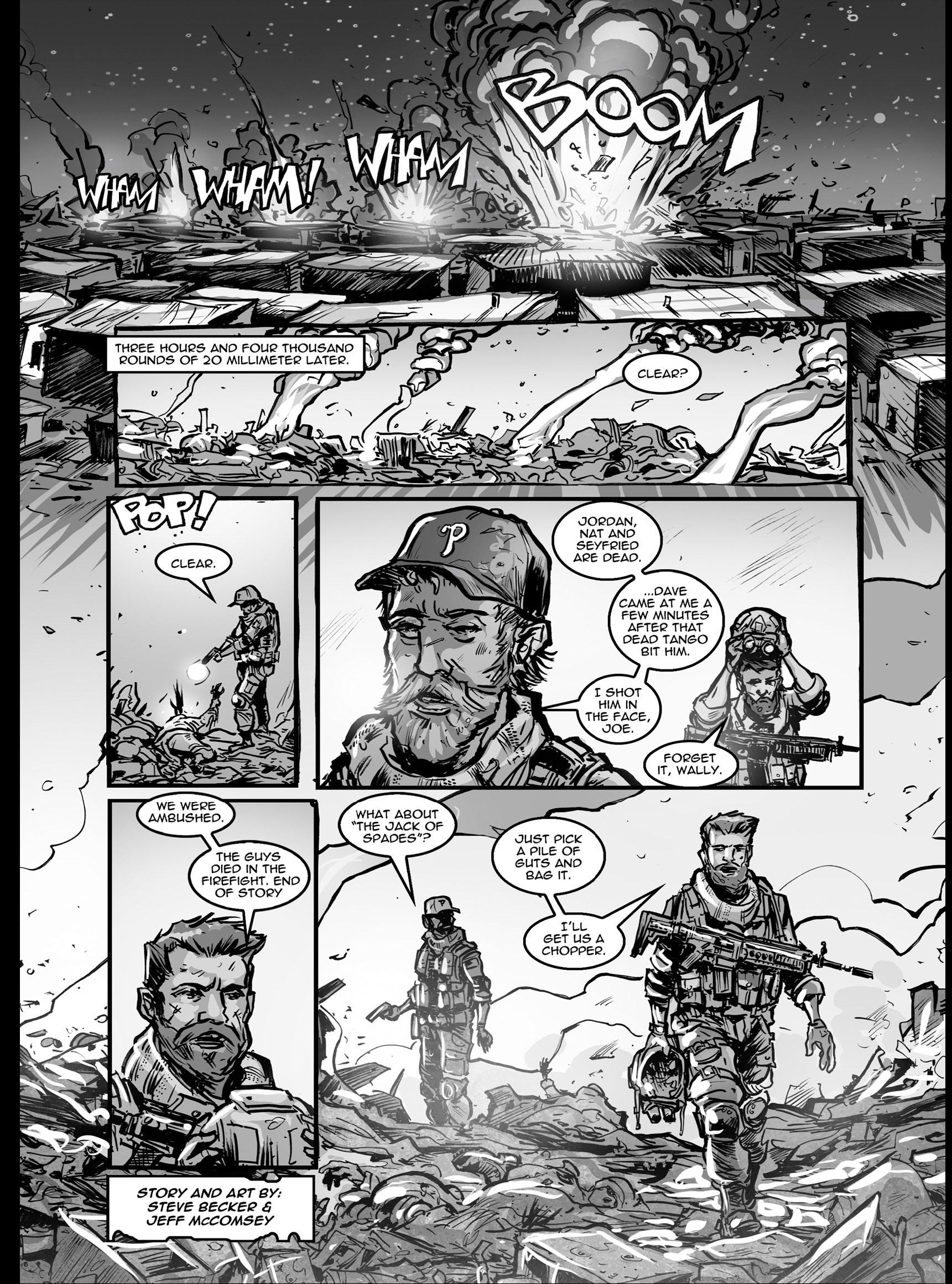 Read online FUBAR comic -  Issue #3 - 373