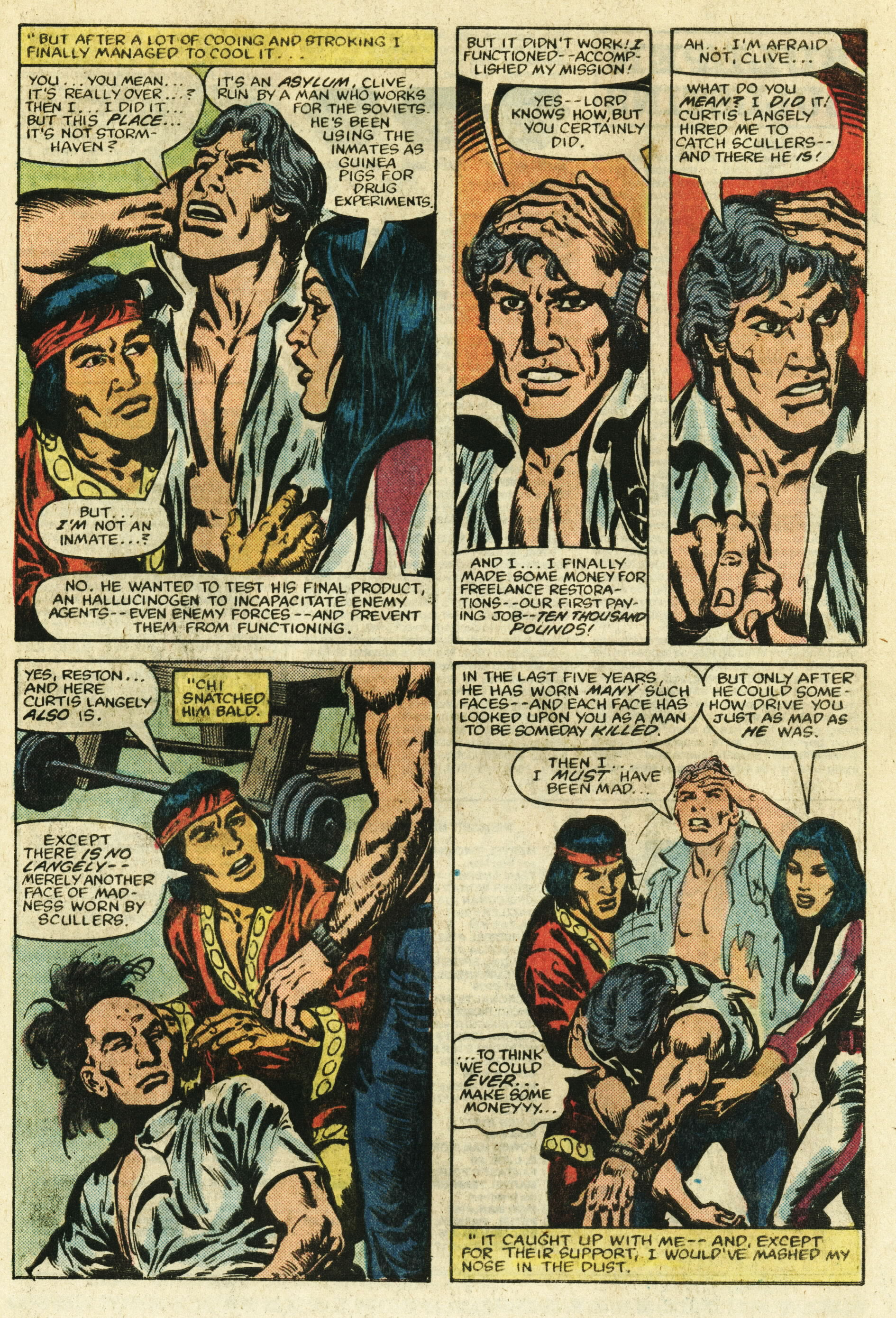 Read online Master of Kung Fu (1974) comic -  Issue #122 - 22