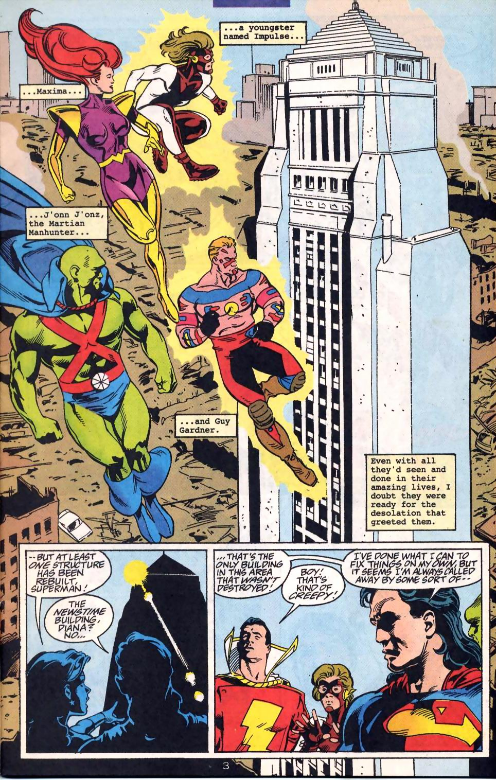 Read online Adventures of Superman (1987) comic -  Issue #522 - 5