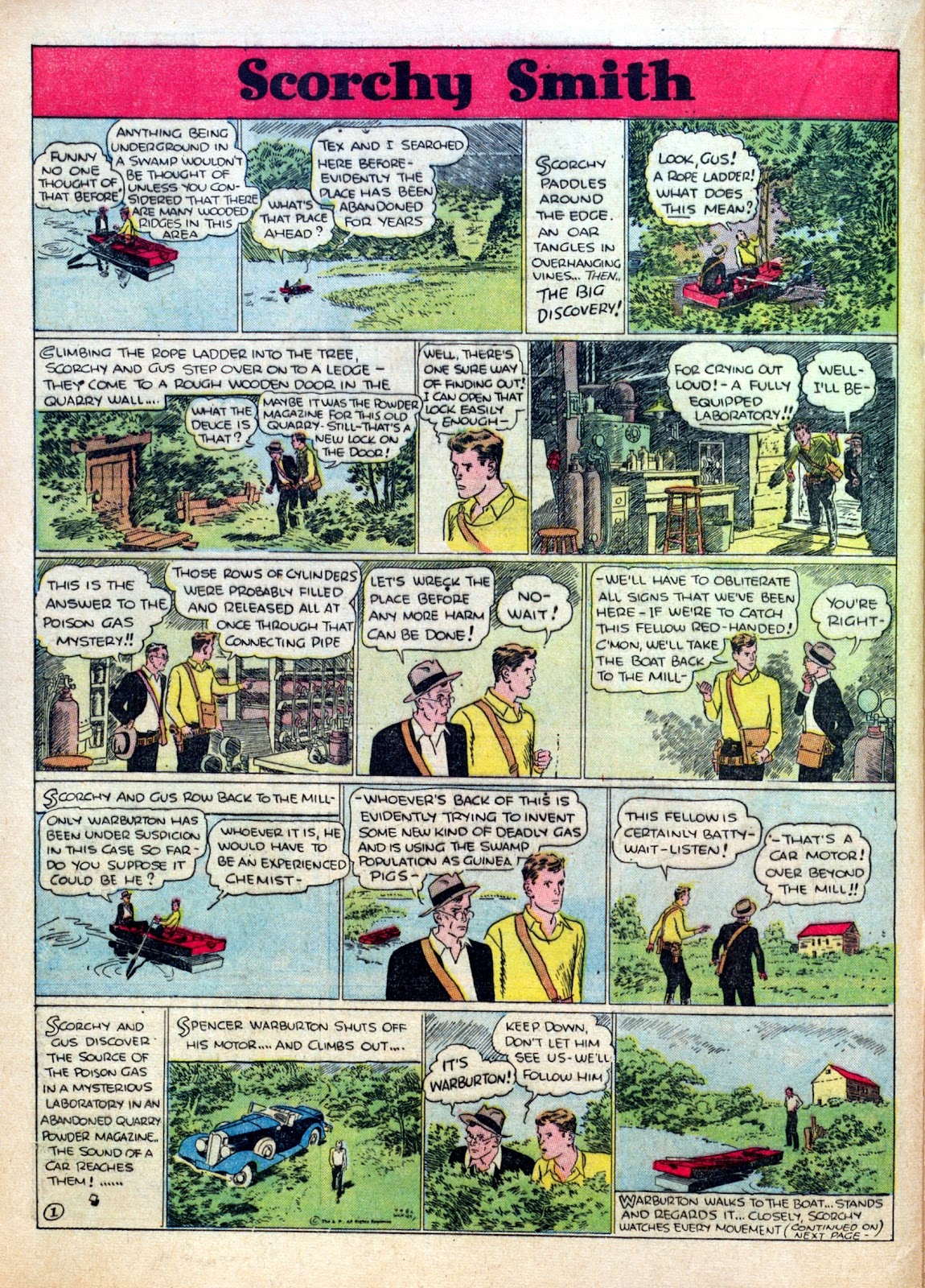 Read online Famous Funnies comic -  Issue #30 - 28