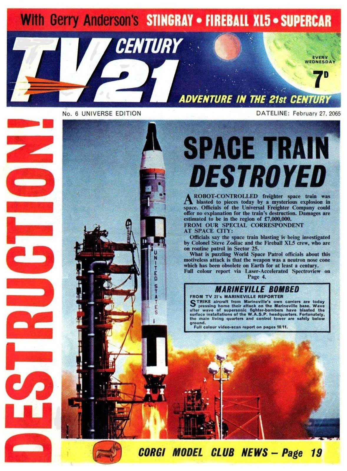 TV Century 21 (TV 21) issue 6 - Page 1