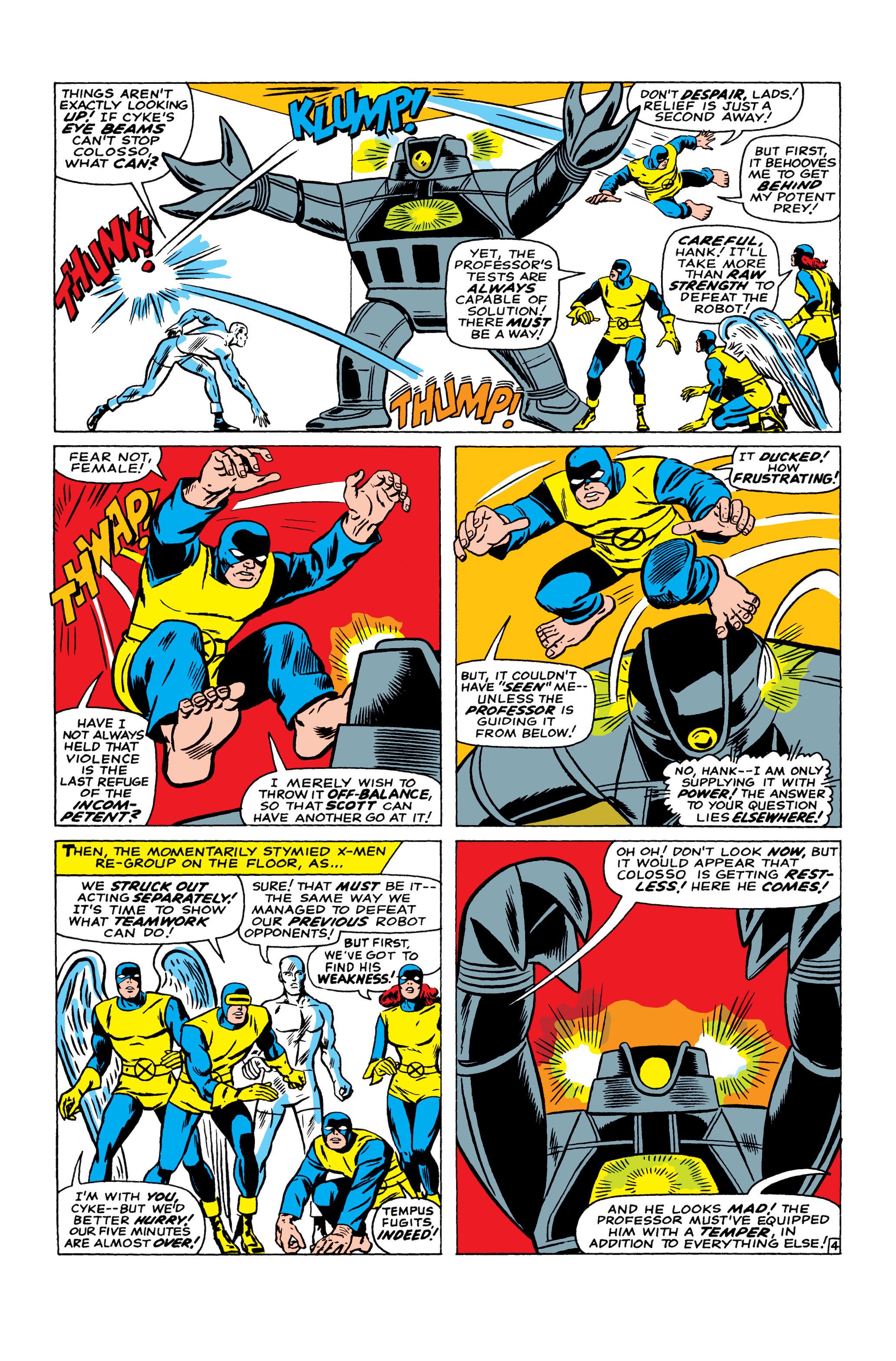 Read online Uncanny X-Men (1963) comic -  Issue #22 - 5