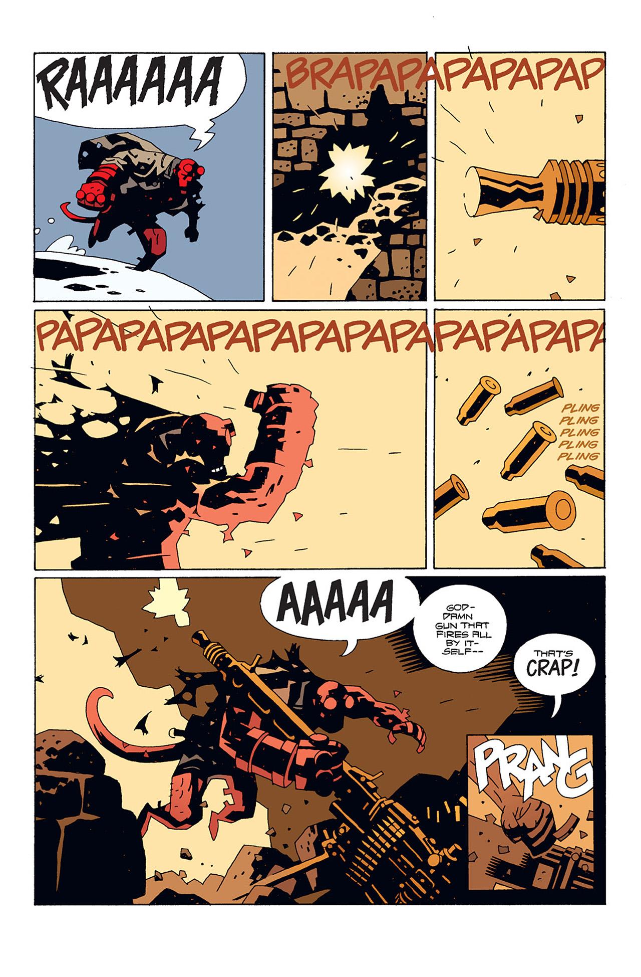 Read online Hellboy: Conqueror Worm comic -  Issue #1 - 27