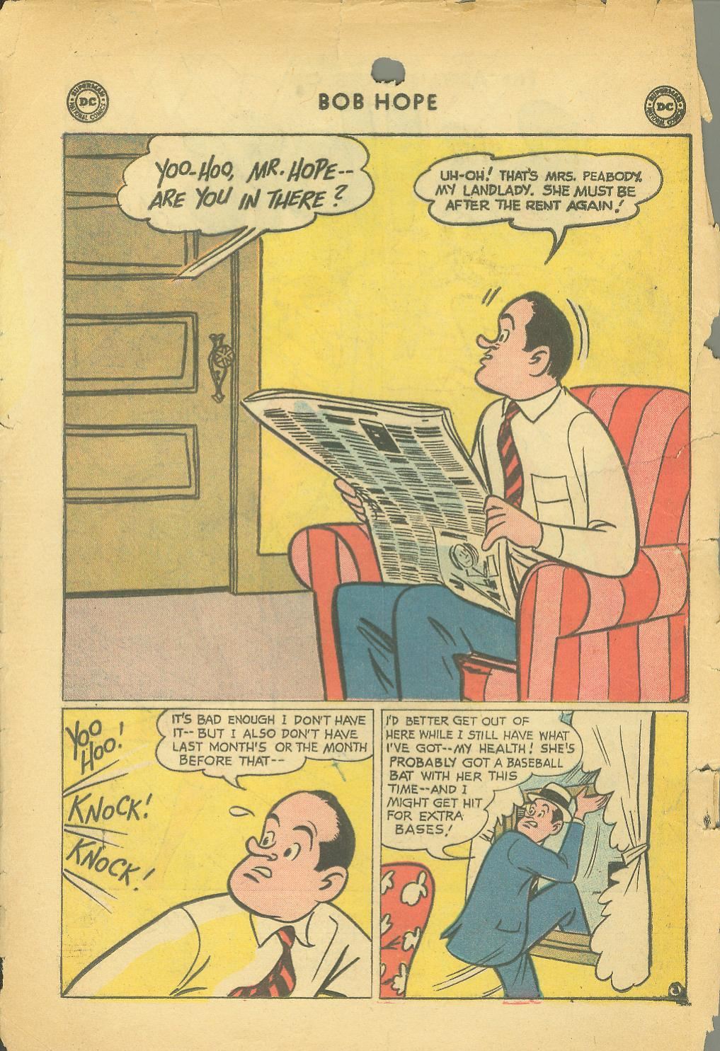 The Adventures of Bob Hope issue 64 - Page 4