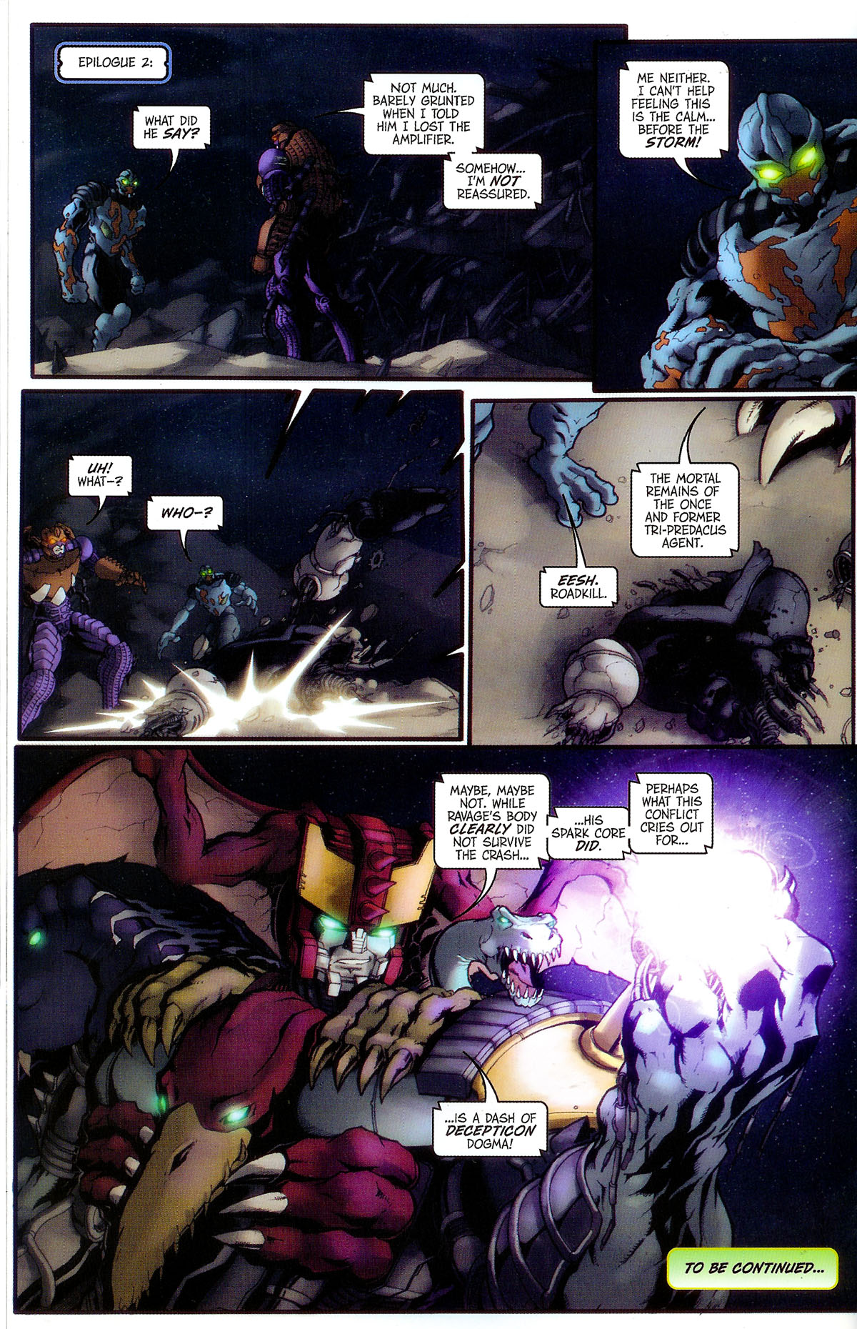 Read online Transformers, Beast Wars: The Gathering comic -  Issue #2 - 25