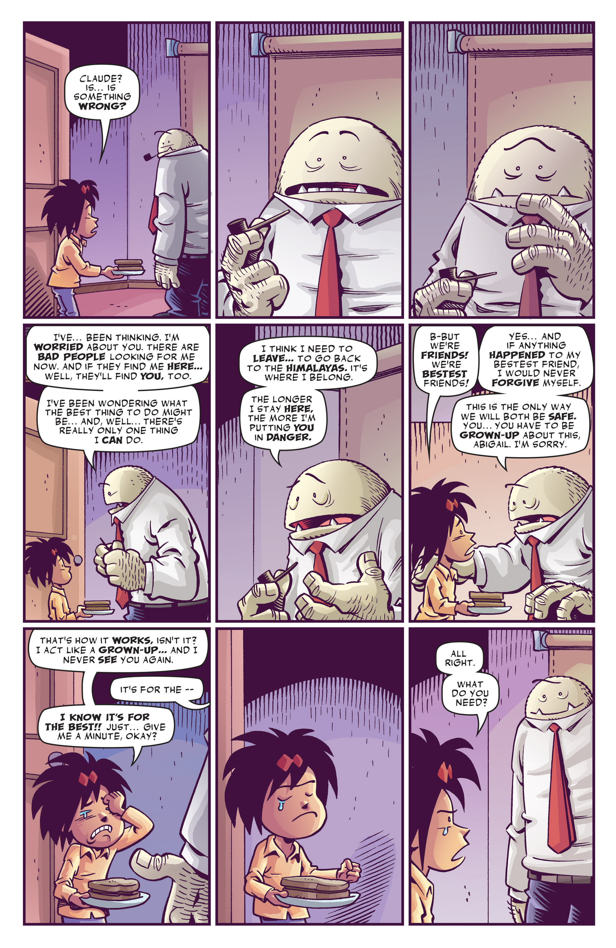 Read online Abigail And The Snowman comic -  Issue #3 - 11