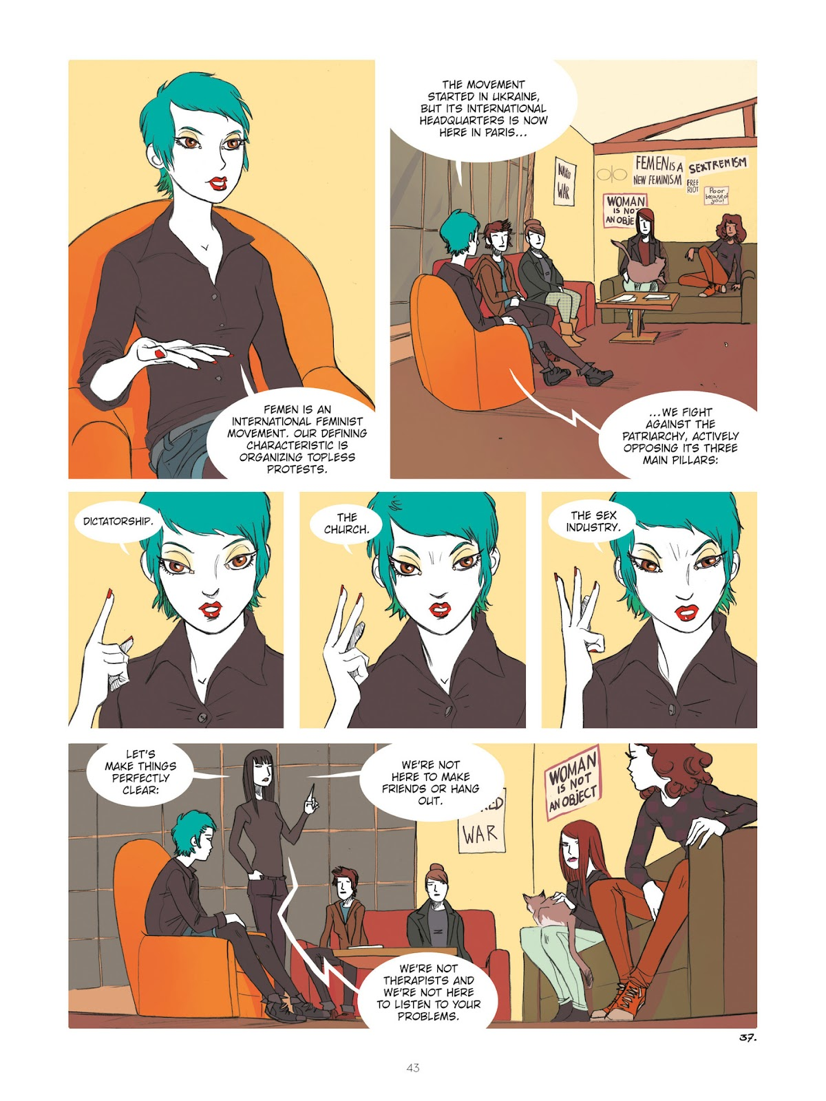 Read online Diary of A Femen comic -  Issue # TPB - 45