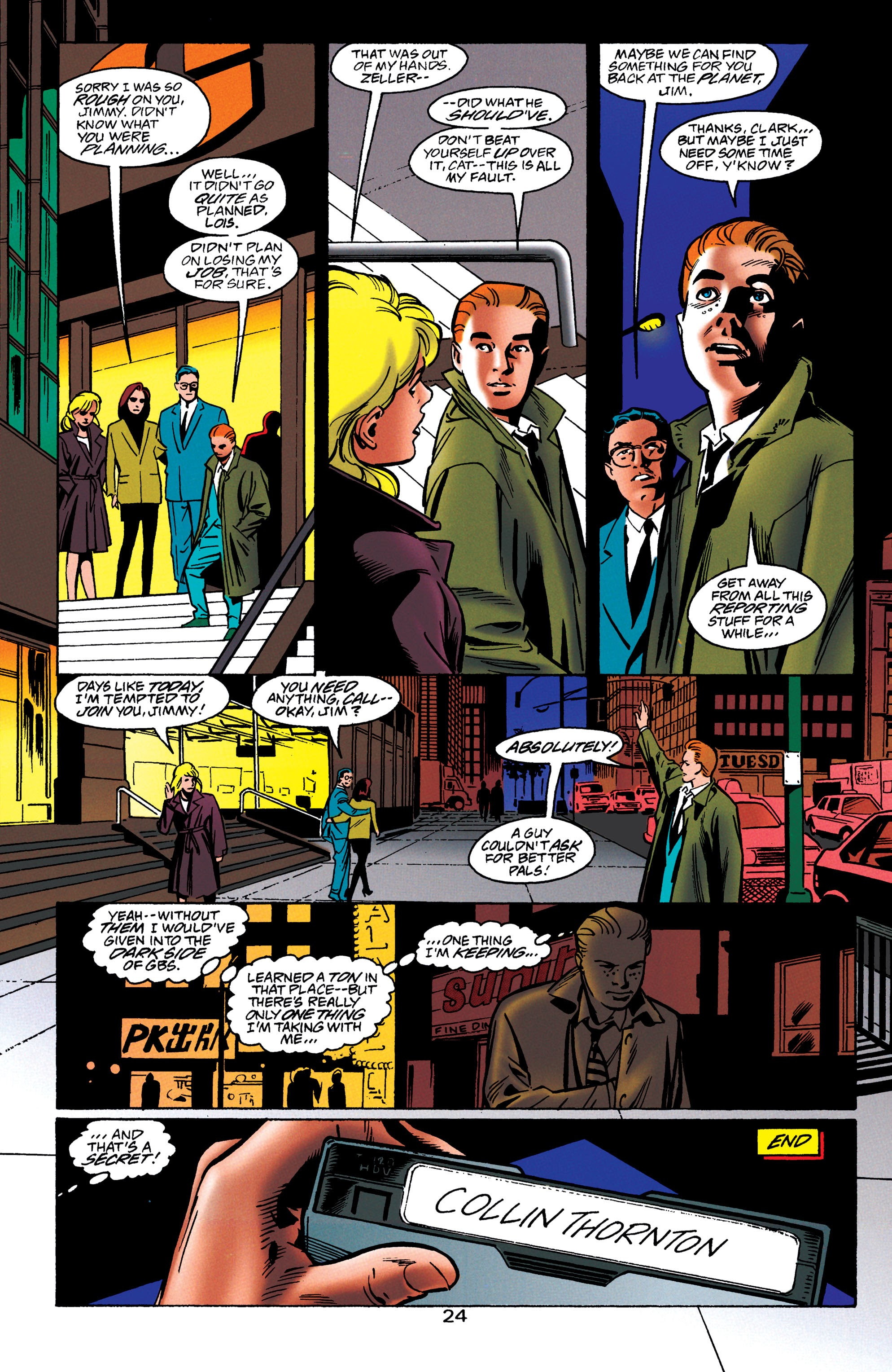 Adventures of Superman (1987) issue 550 - Page 25