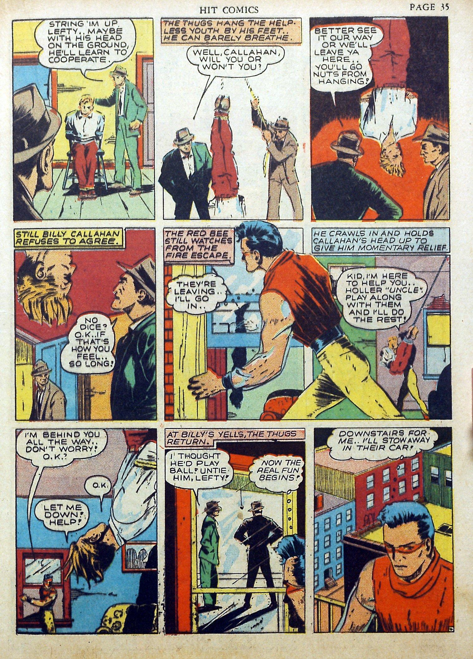 Read online Hit Comics comic -  Issue #17 - 37