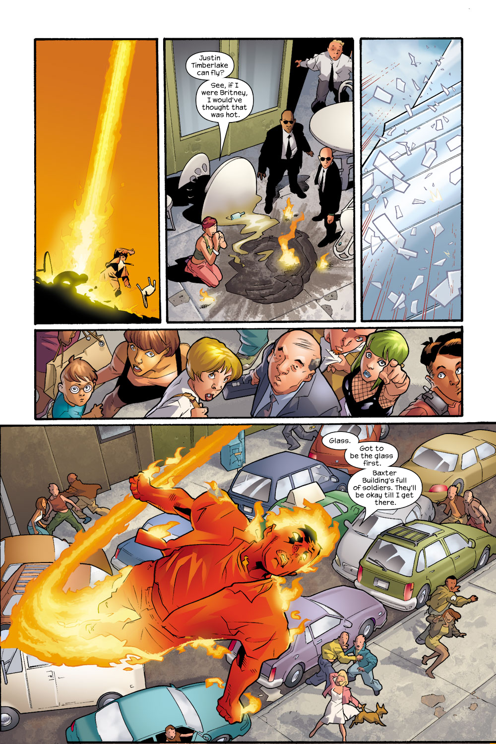 Read online Ultimate Fantastic Four (2004) comic -  Issue #8 - 20