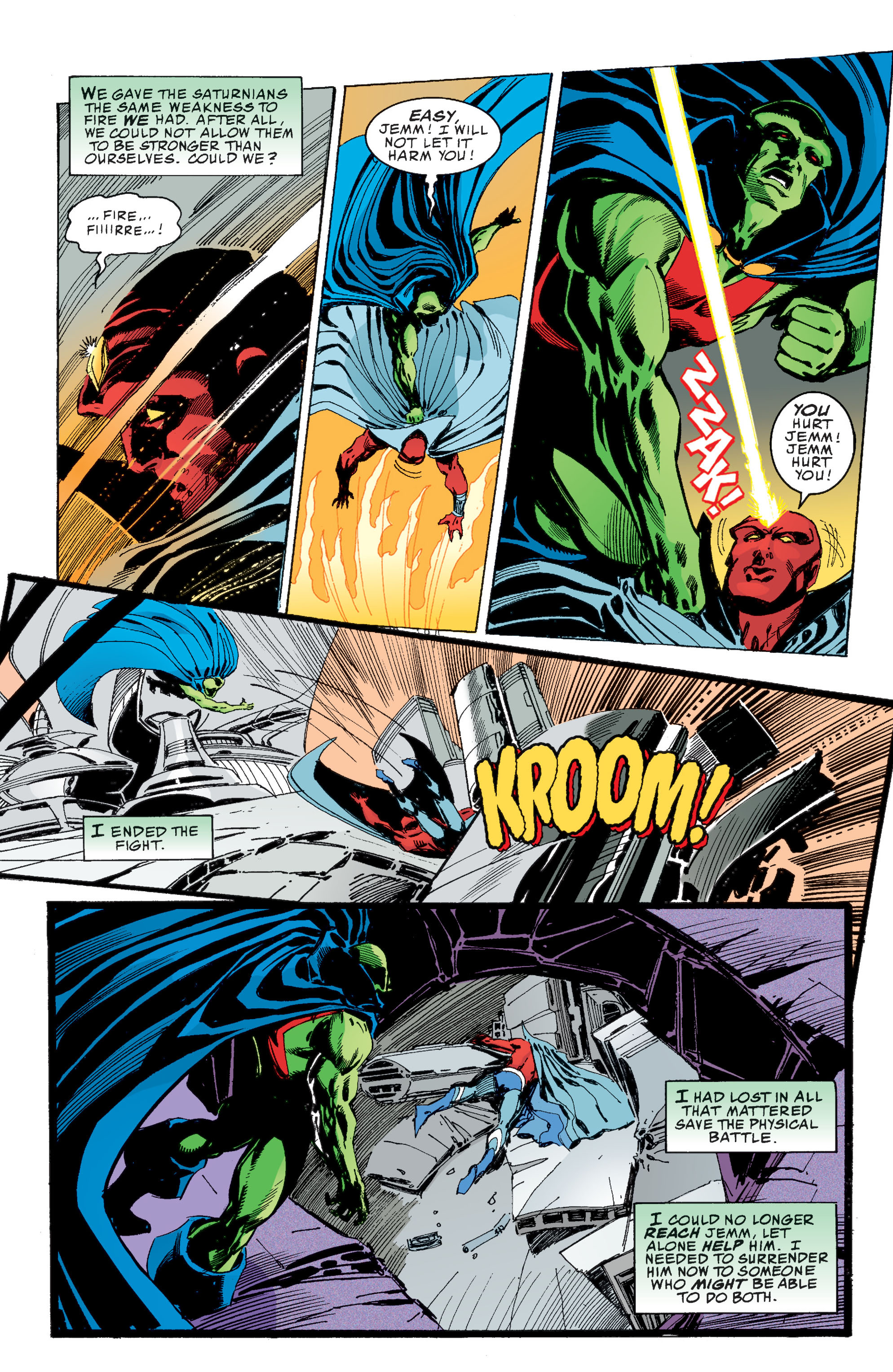 Read online Martian Manhunter: Son of Mars comic -  Issue # TPB - 118