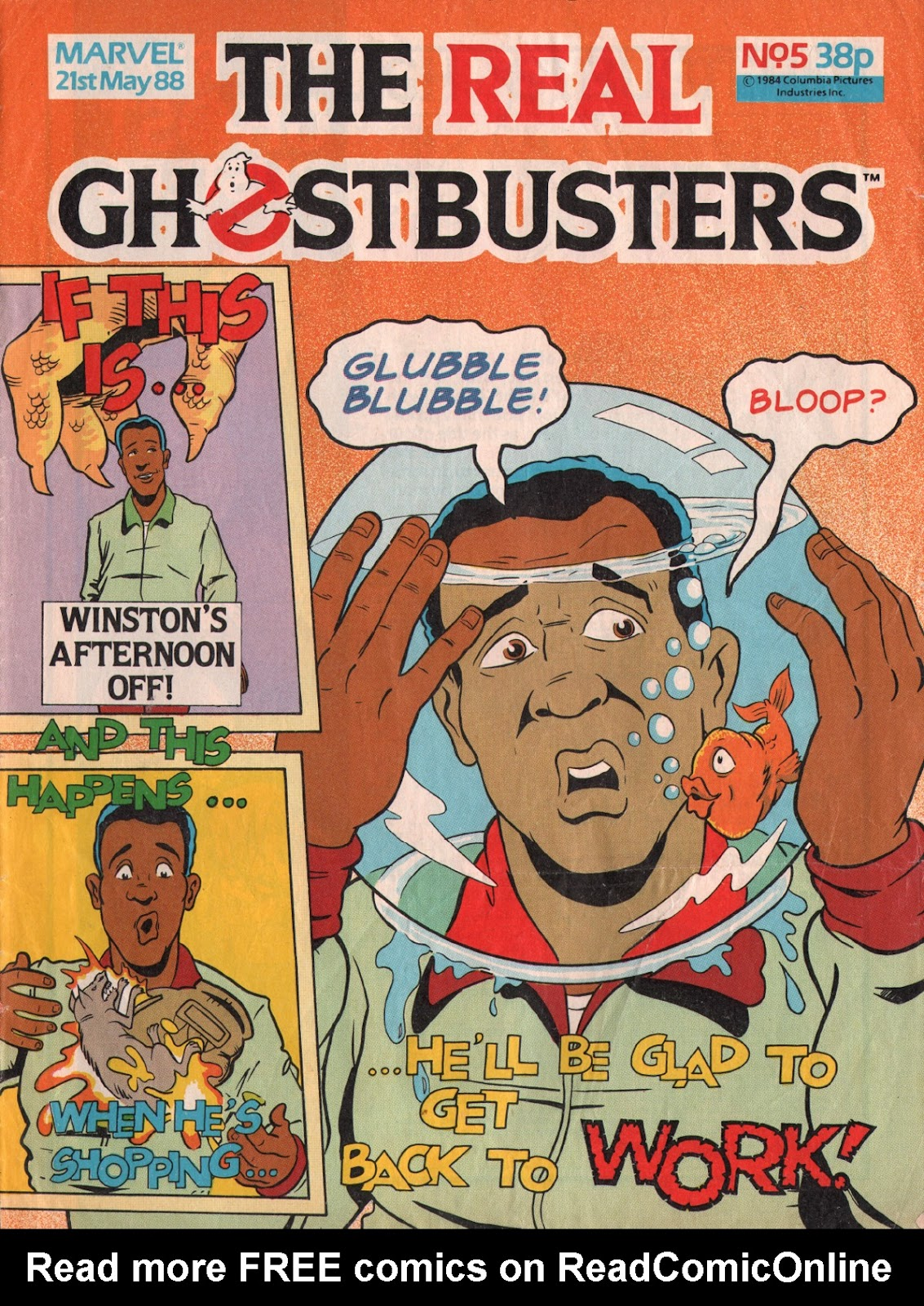 The Real Ghostbusters Issue #5 #7 - English 1
