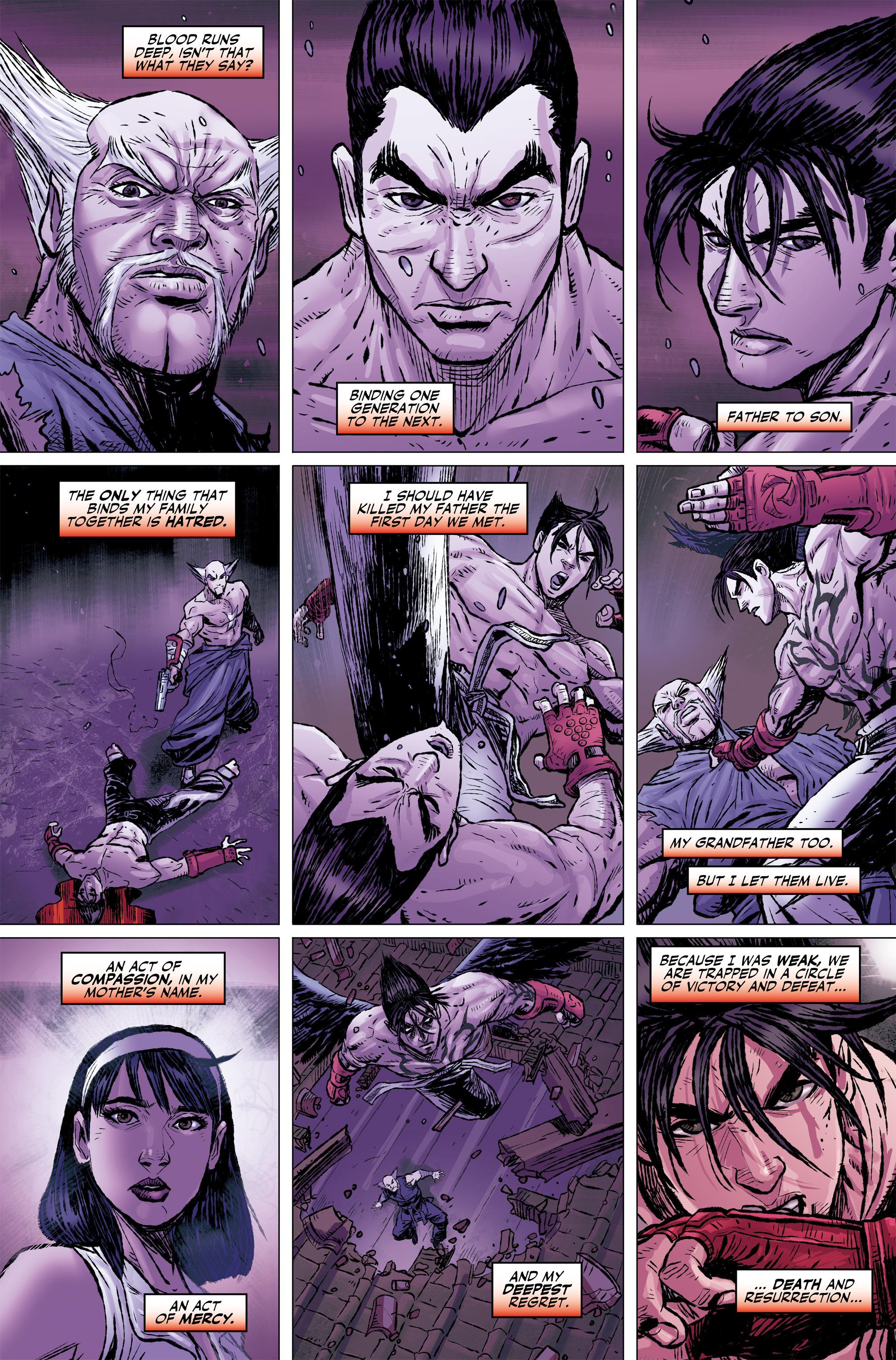 Read online Tekken comic -  Issue #2 - 7