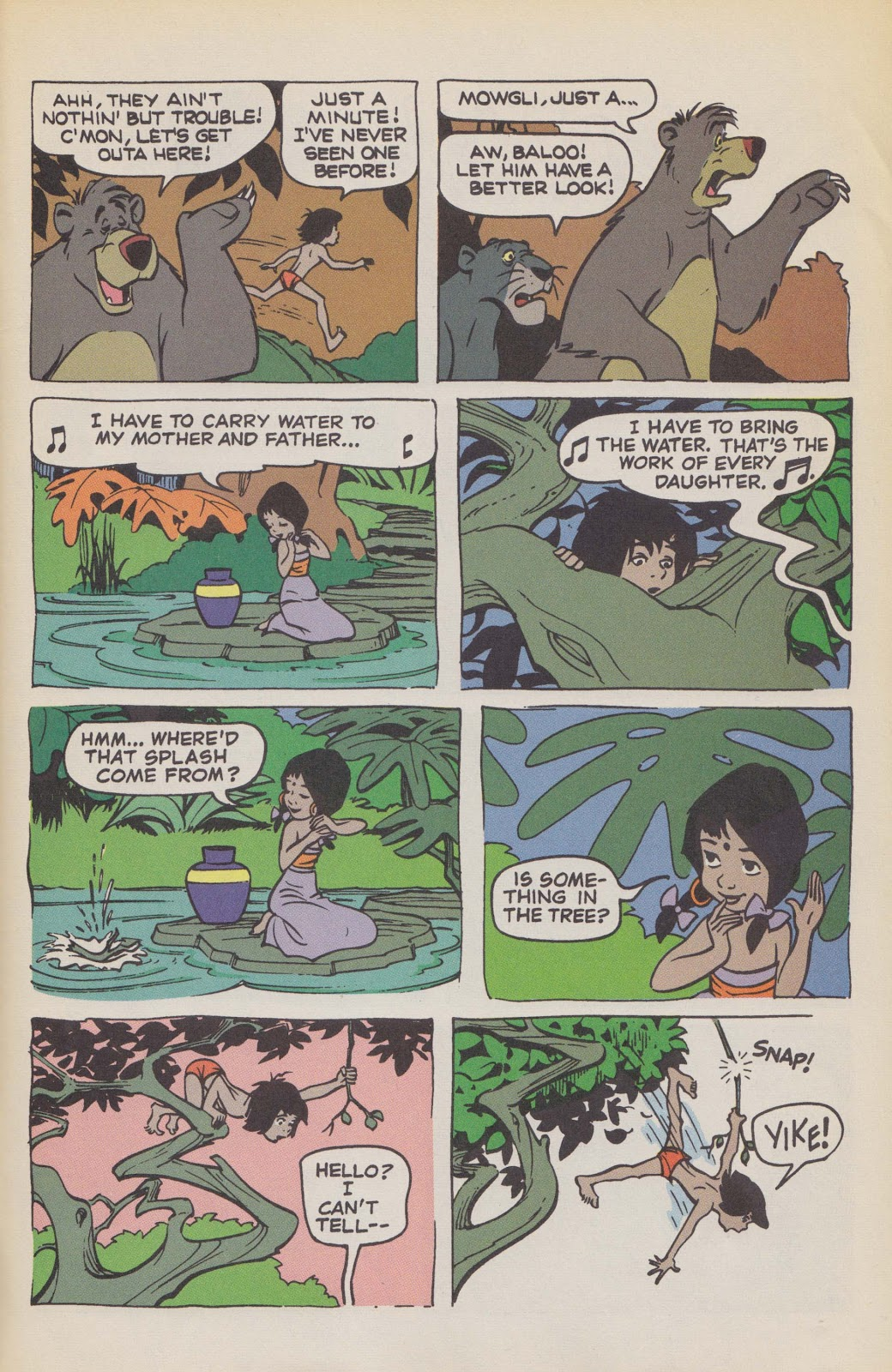 Read online The Jungle Book comic -  Issue # Full - 63