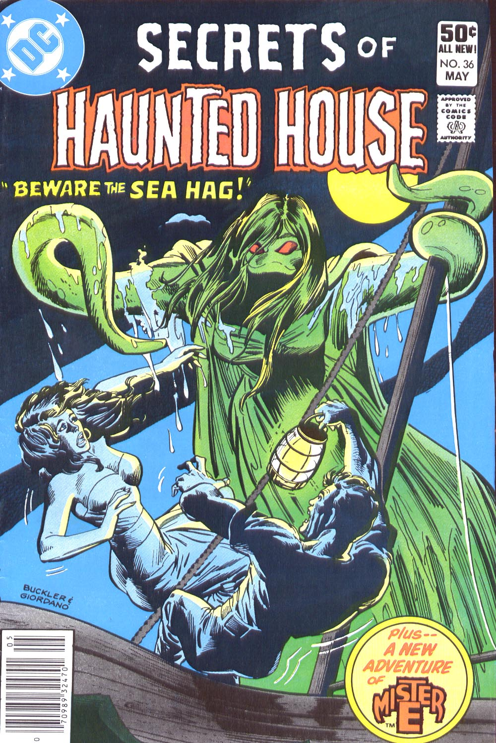 Read online Secrets of Haunted House comic -  Issue #36 - 1