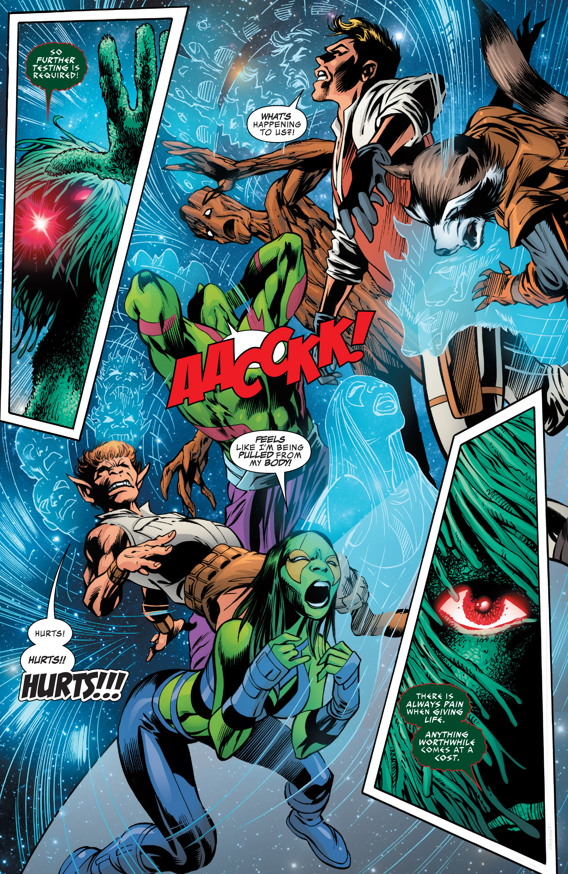 Read online Guardians of the Galaxy: Mother Entropy comic -  Issue #2 - 20