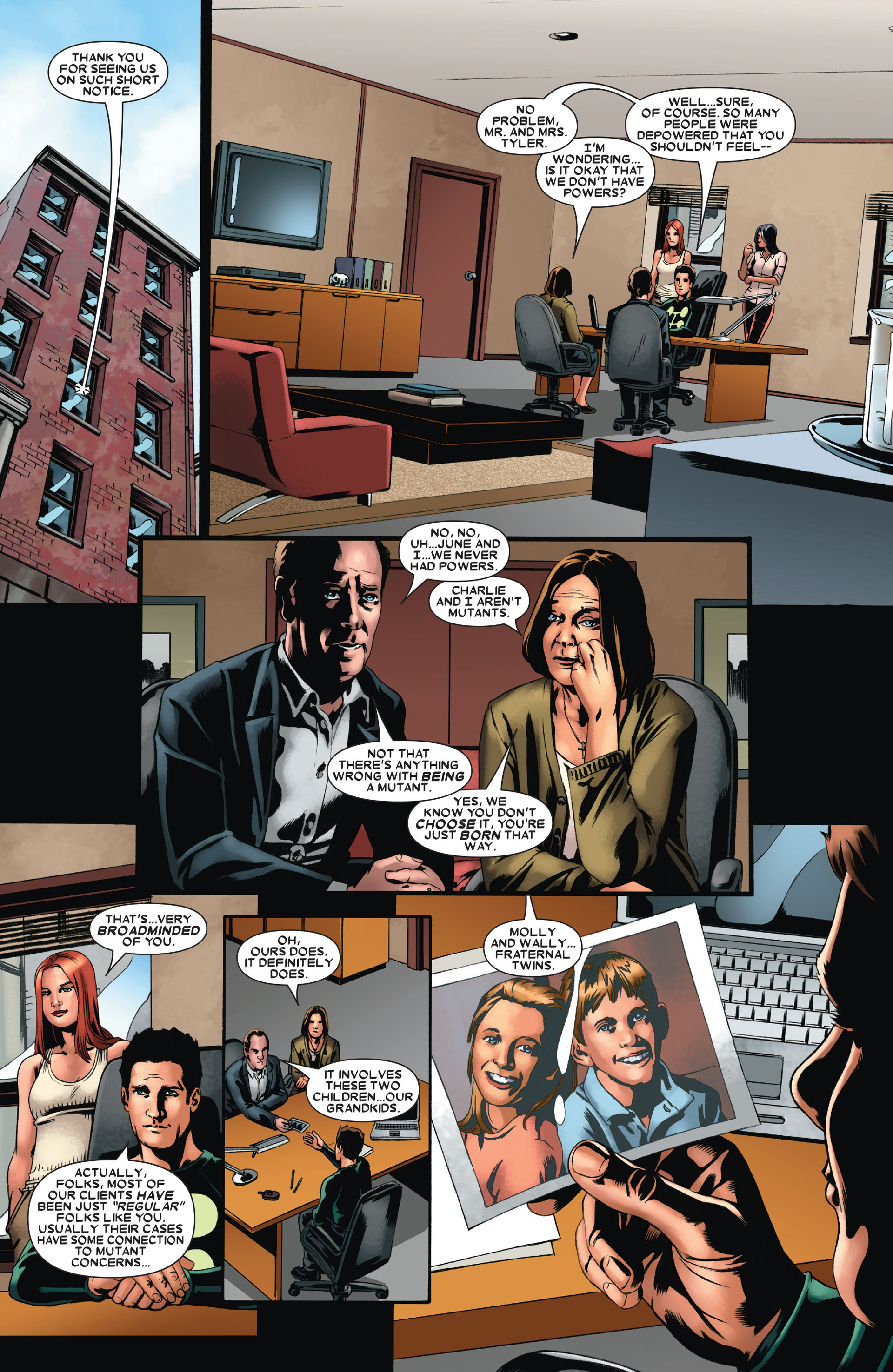 Read online X-Factor (2006) comic -  Issue #21 - 19