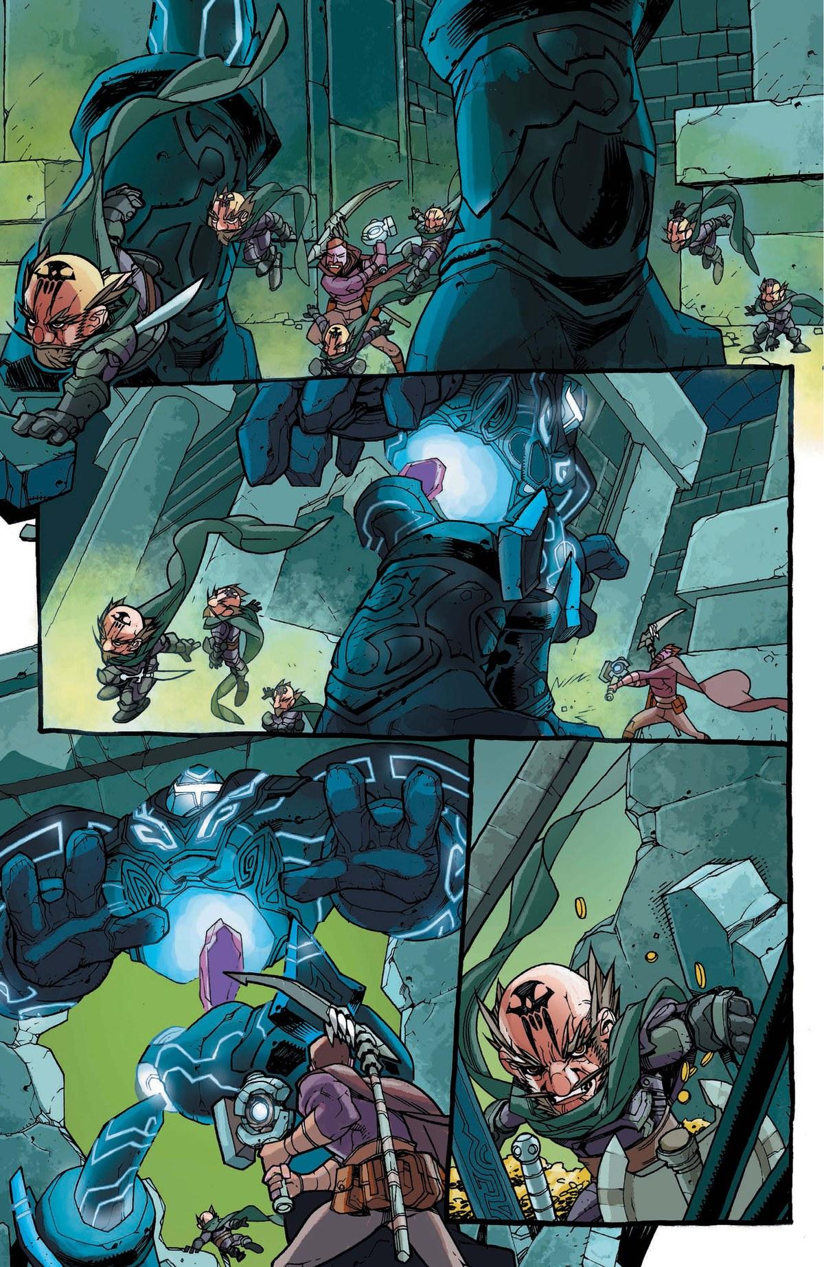 Read online World of Warcraft: Dark Riders comic -  Issue # Full - 120