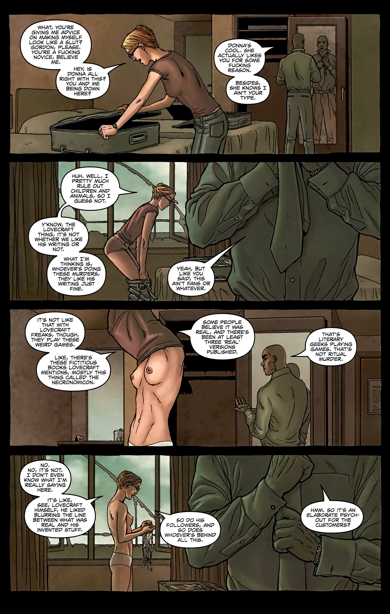 Read online Alan Moore's Neonomicon comic -  Issue #2 - 11