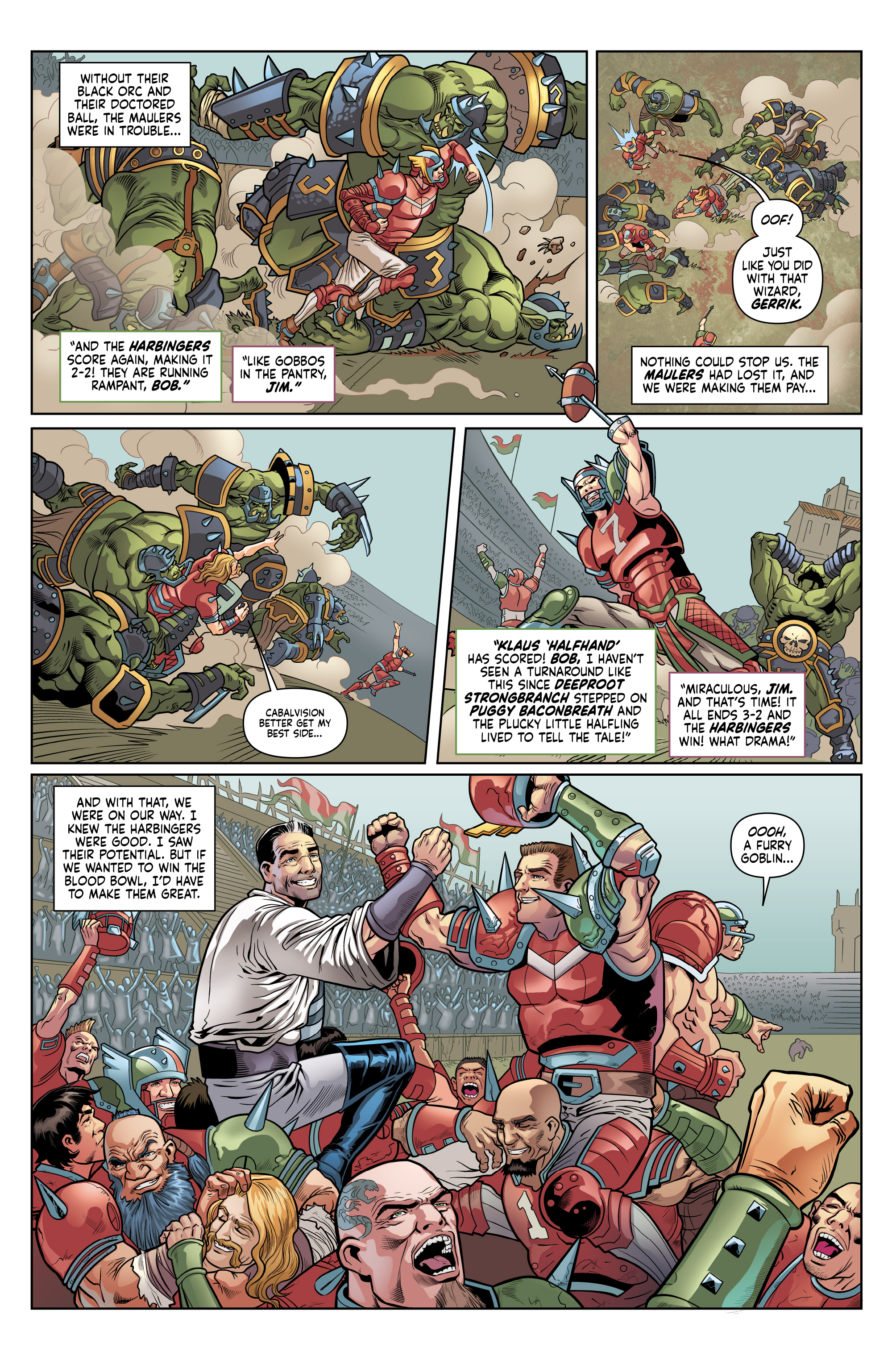 Read online Blood Bowl: More Guts, More Glory! comic -  Issue #1 - 28