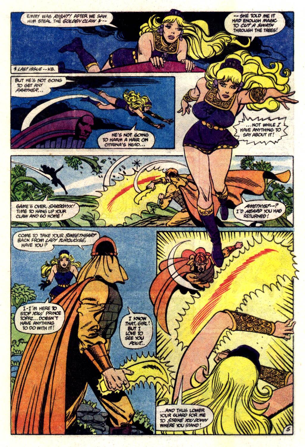 Read online Amethyst (1985) comic -  Issue #6 - 6
