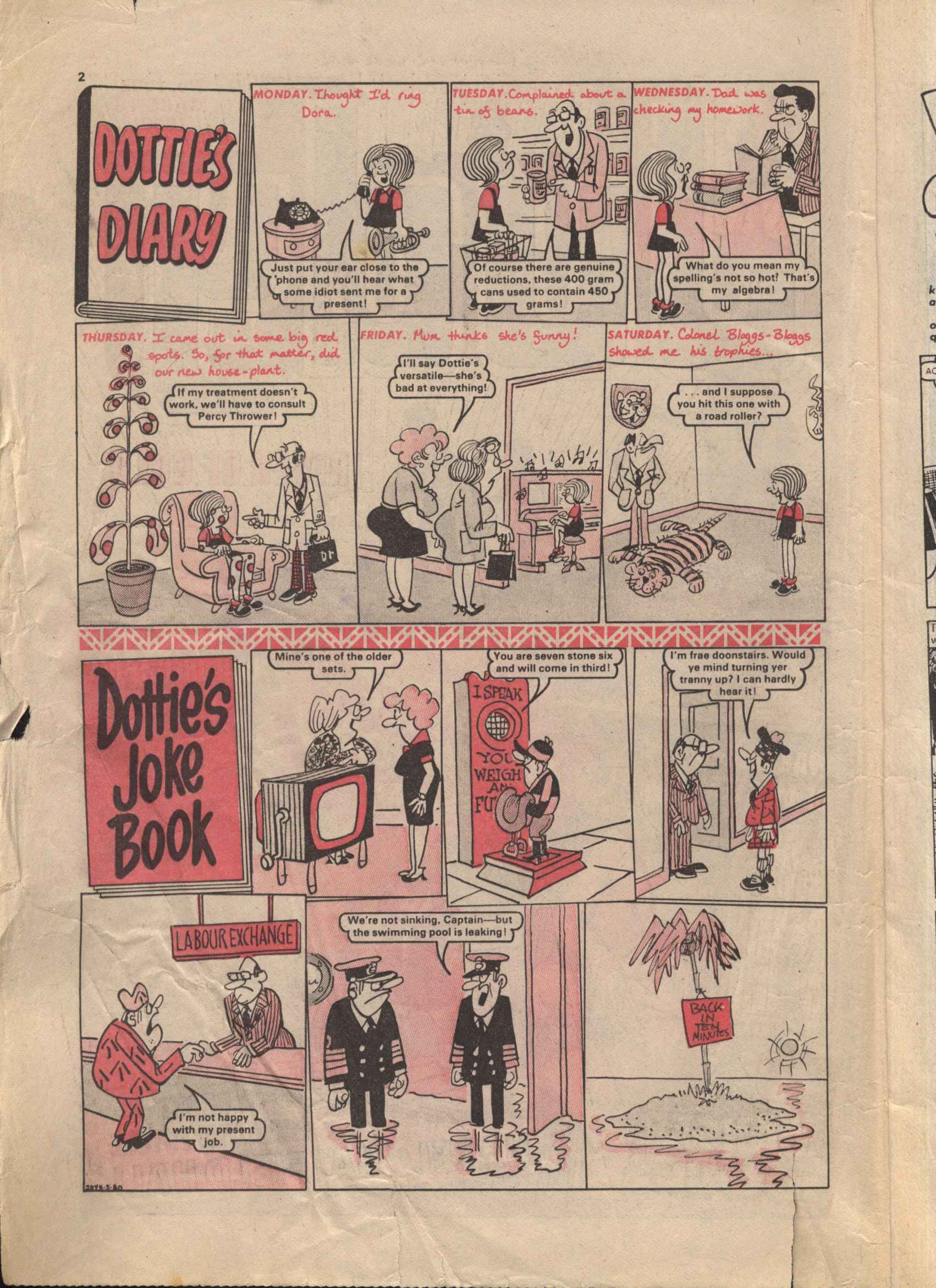 Read online Judy comic -  Issue #1052 - 2